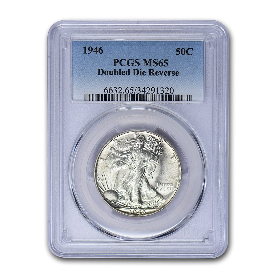 1946 Walking Liberty Half Dollar MS-65 PCGS (DDR FS-801)