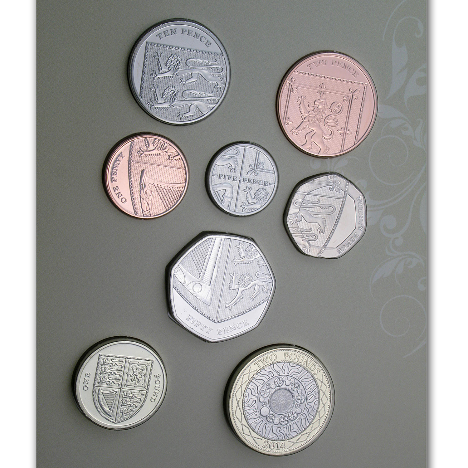2014 Great Britain Wedding Coins Gift Pack - BU