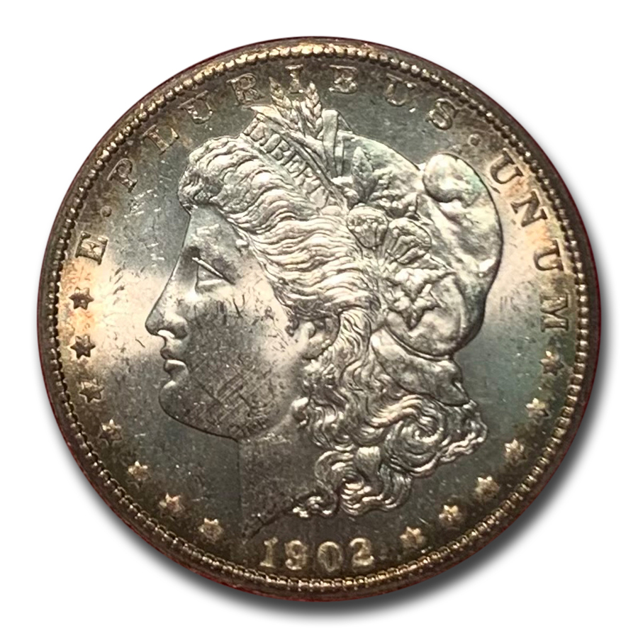1902-S Morgan Dollar MS-65 (Redfield Hoard)