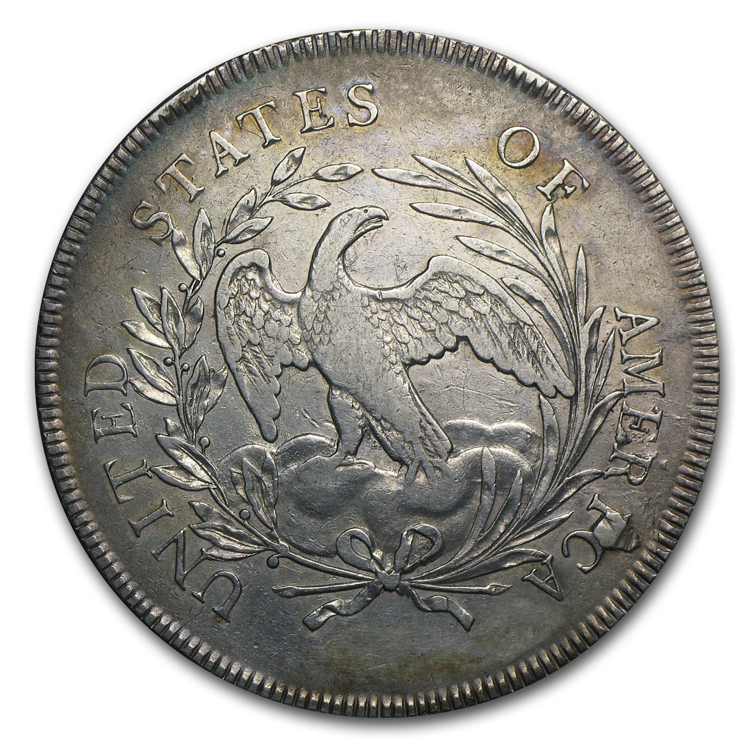 1796 Bust Dollar AU Details (Polished)