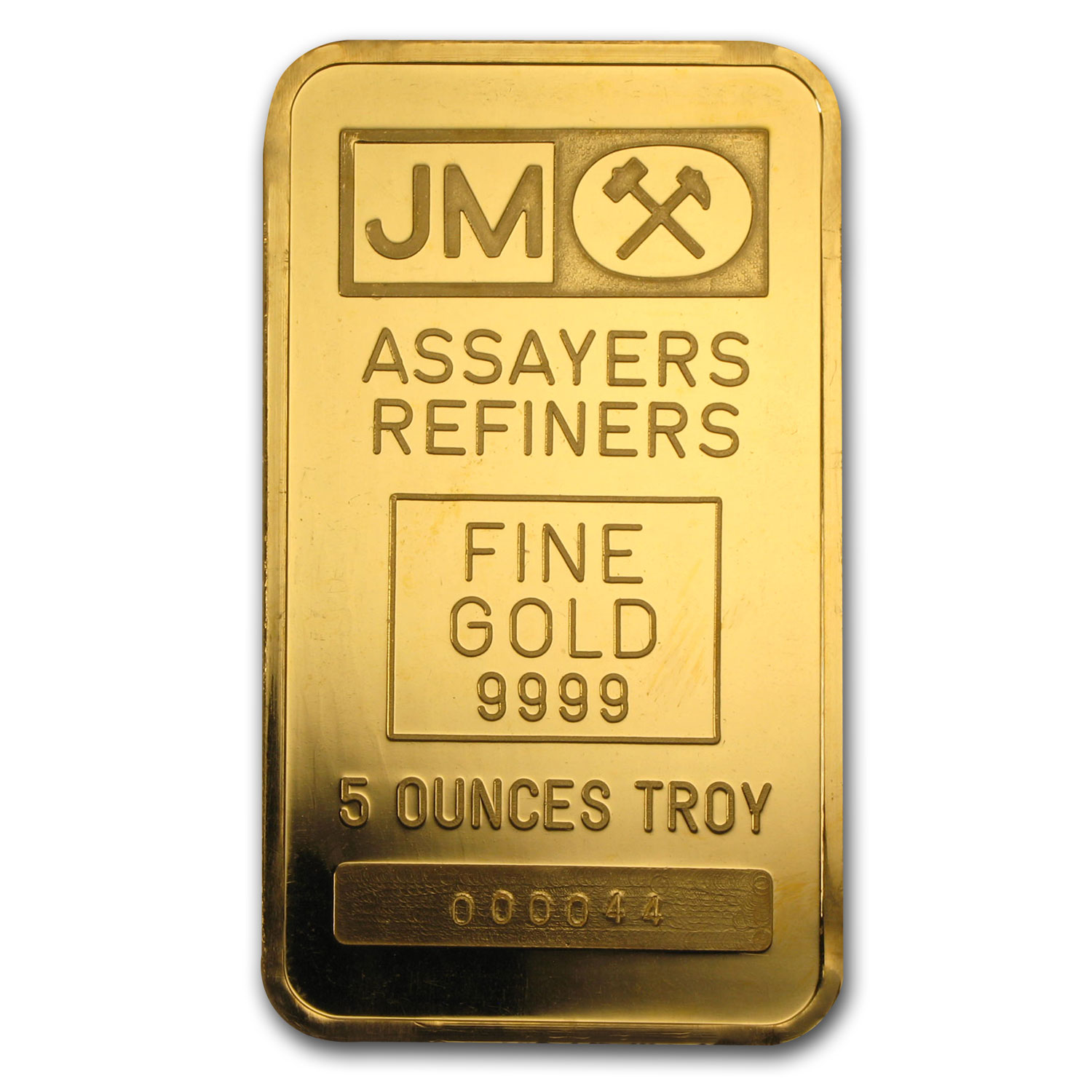 5 oz Gold Bar - Johnson Matthey (TD Bank)