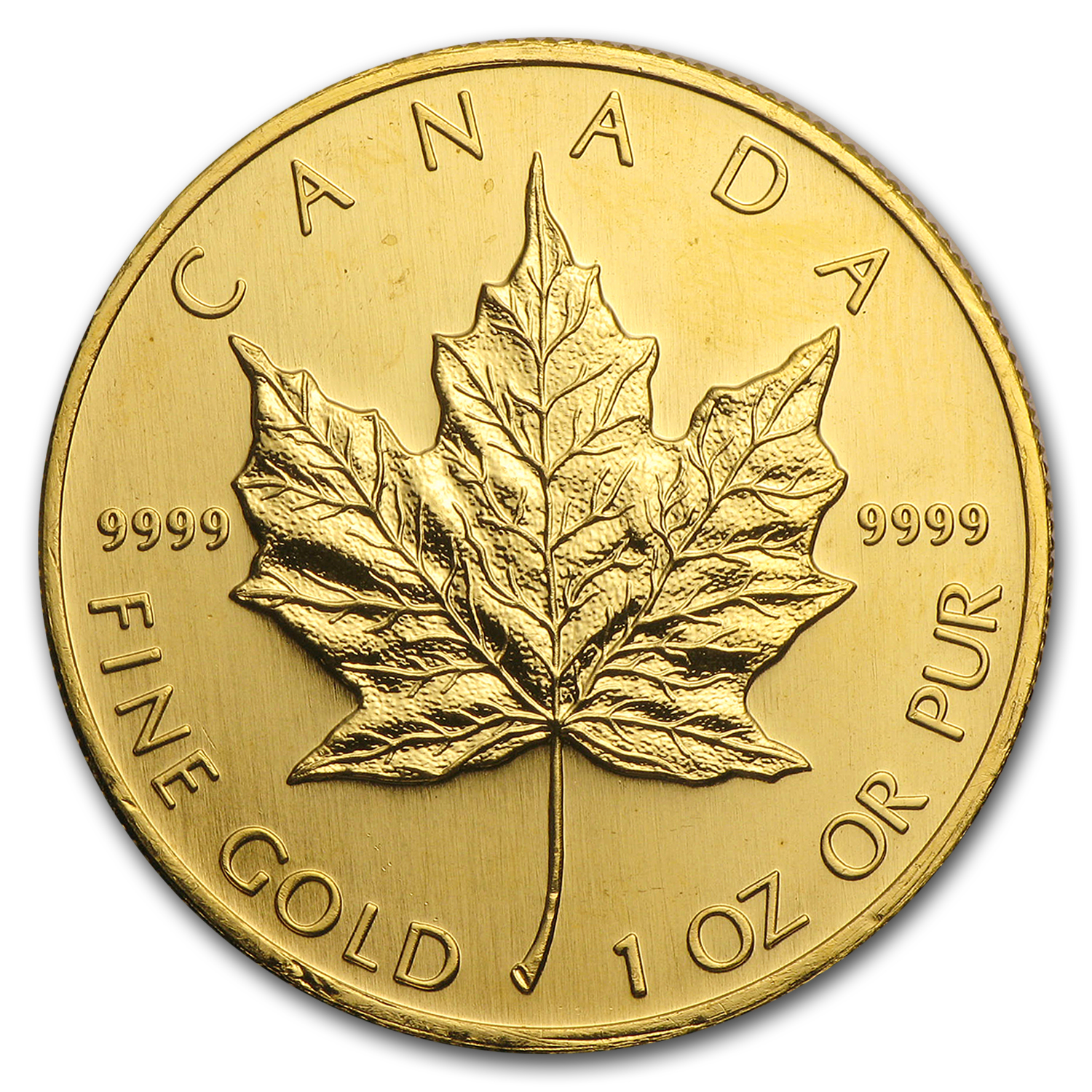 1994 Canada 1 oz Gold Maple Leaf BU
