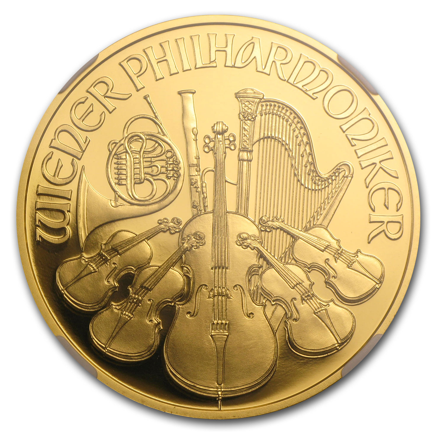 2014 Austria 1 oz Proof Gold Philharmonic PF-70 NGC (ER)