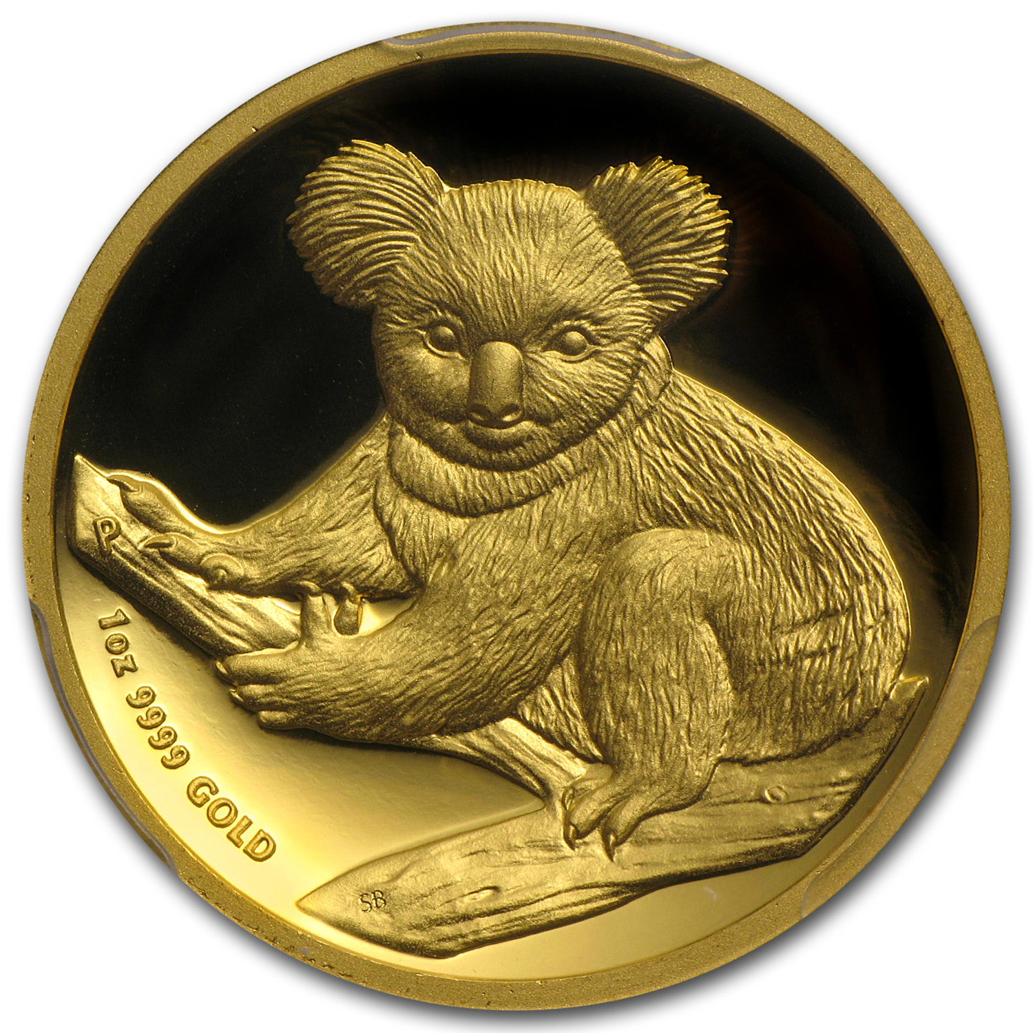 2009-P 1 oz Proof Gold Koala High Relief Gem Proof DCAM PCGS (FS)