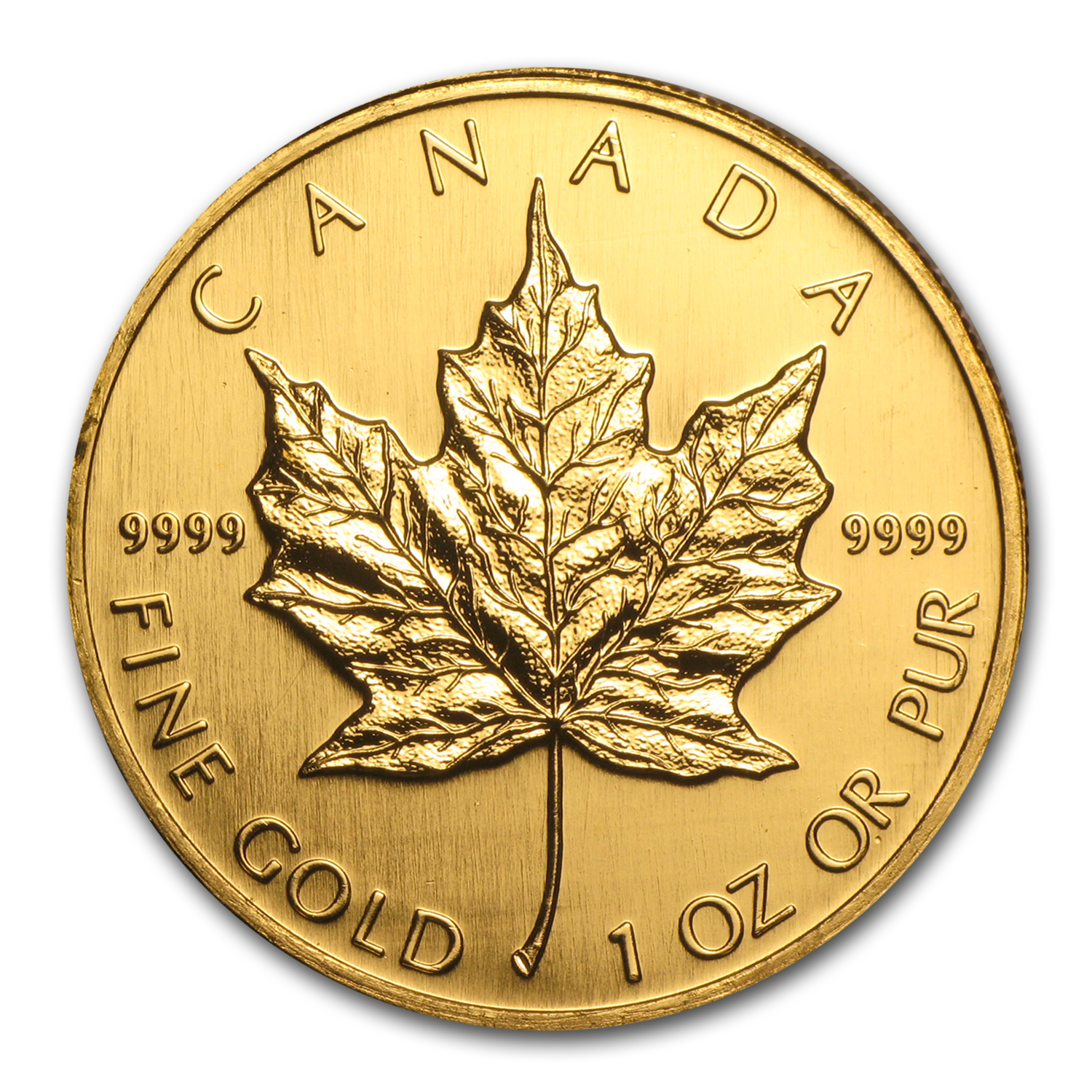 1995 Canada 1 oz Gold Maple Leaf BU