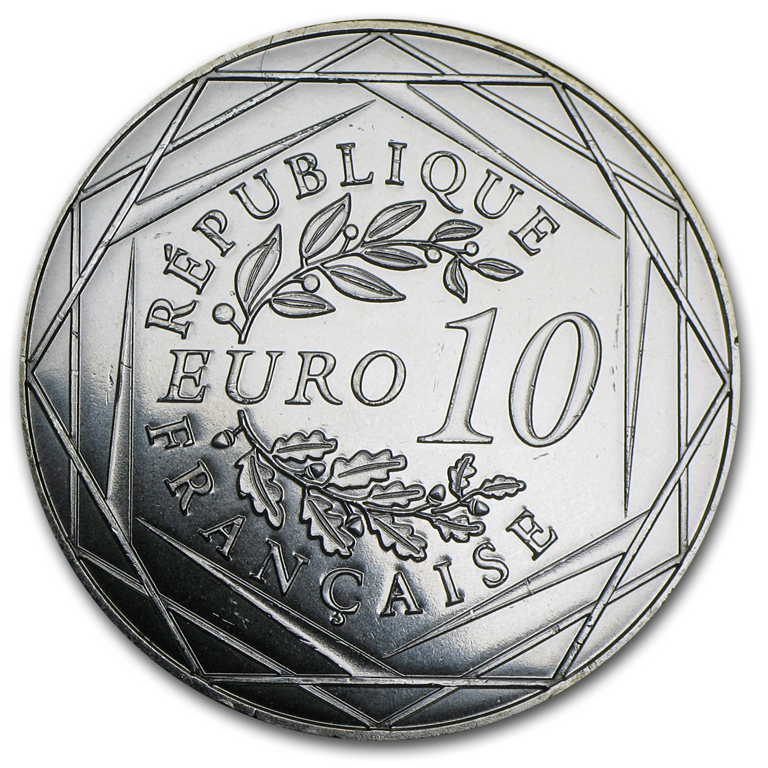 2014 €10 Silver The Rooster (Face Value Coins)