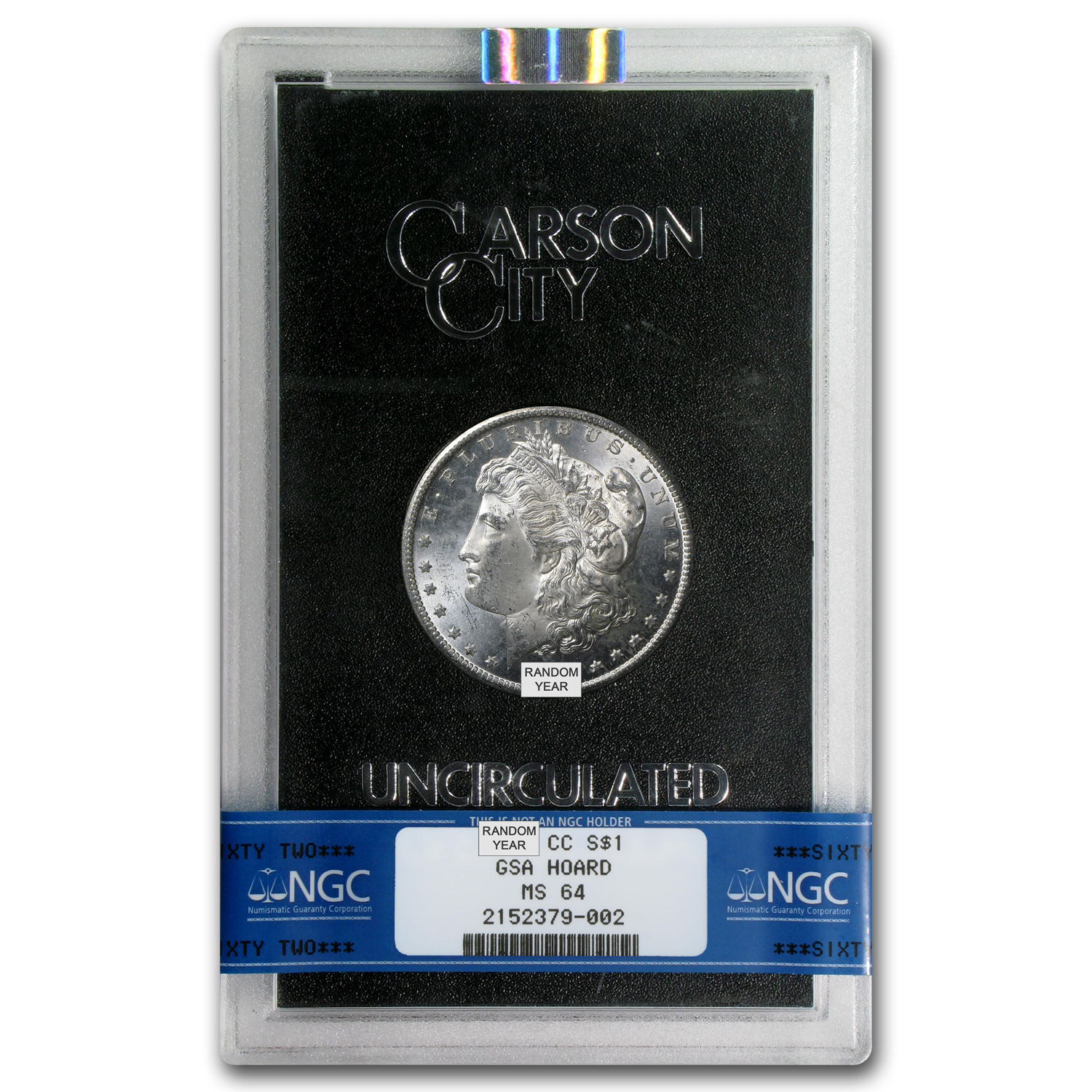 1882-1884-CC Morgan Dollar MS-64 NGC (GSA)