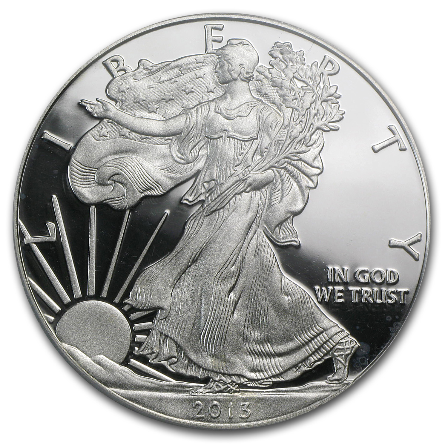 2013-W Proof Silver American Eagle PR-69 PCGS