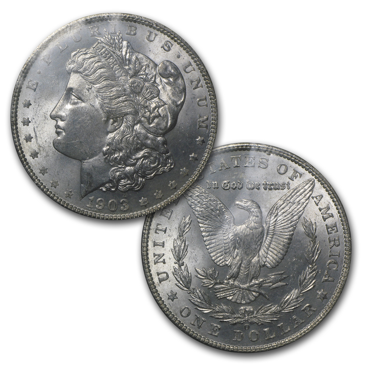 1903-O Morgan Dollar (GSA Certified, Soft Pack)