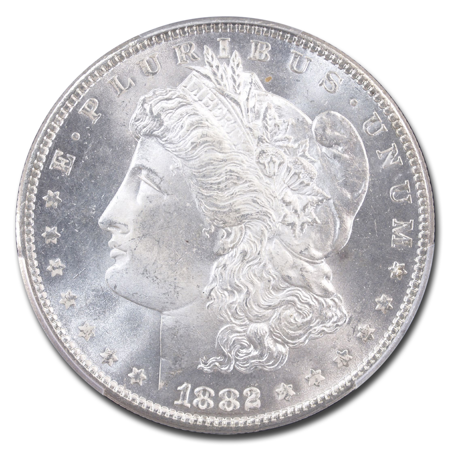1882 Morgan Dollar - MS-65+ Plus PCGS