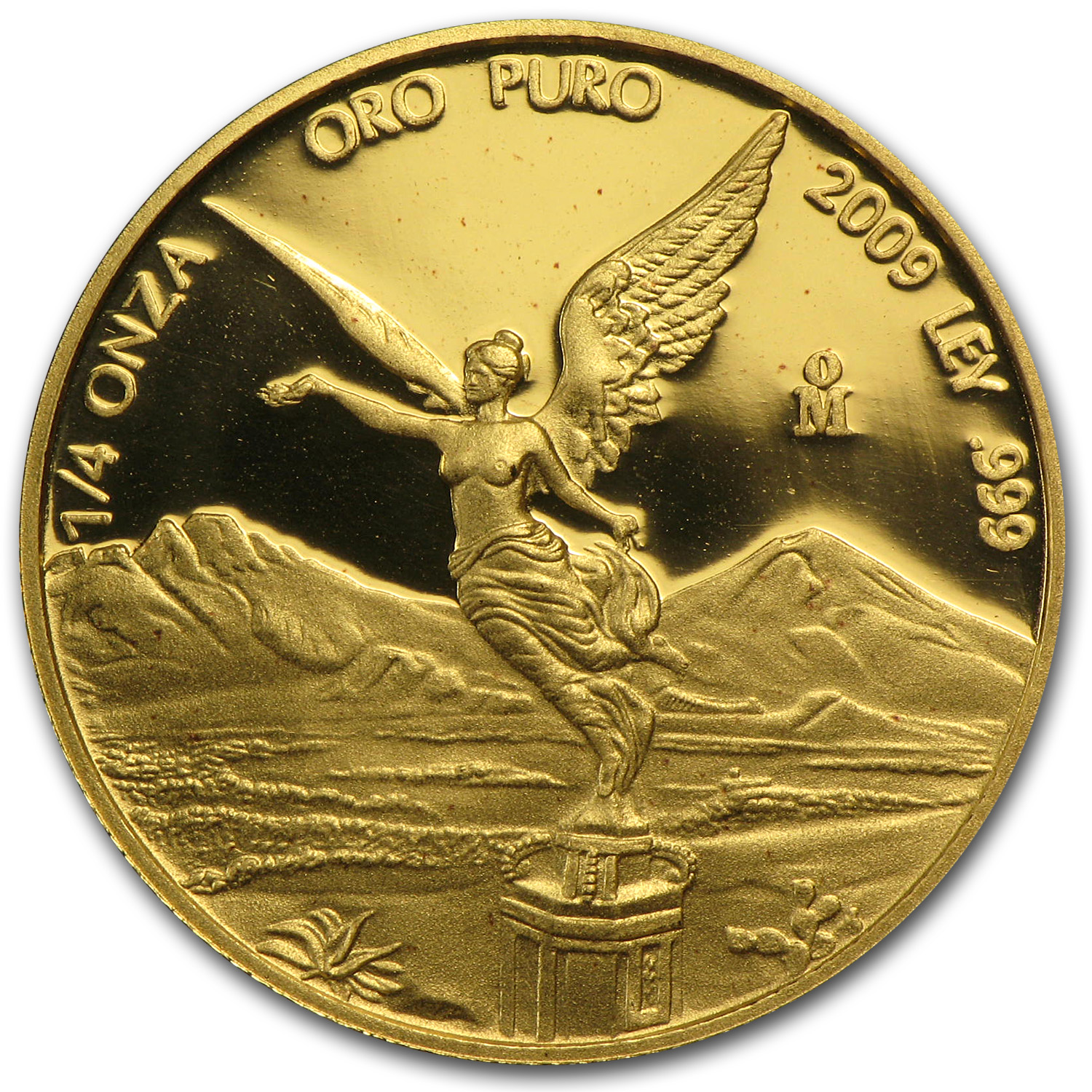 2009 1/4 oz Gold Mexican Libertad - Proof