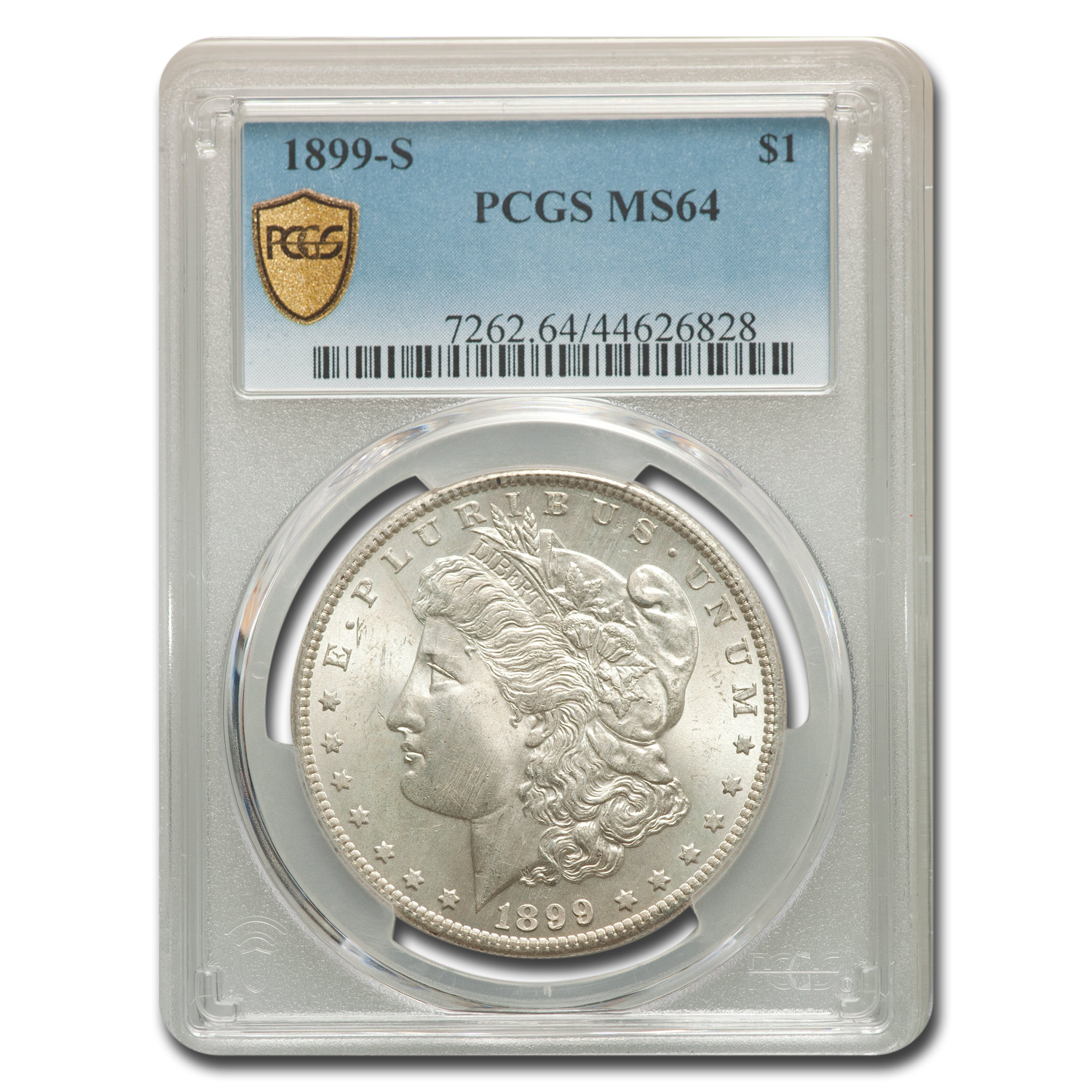 1899-S Morgan Dollar MS-64 PCGS