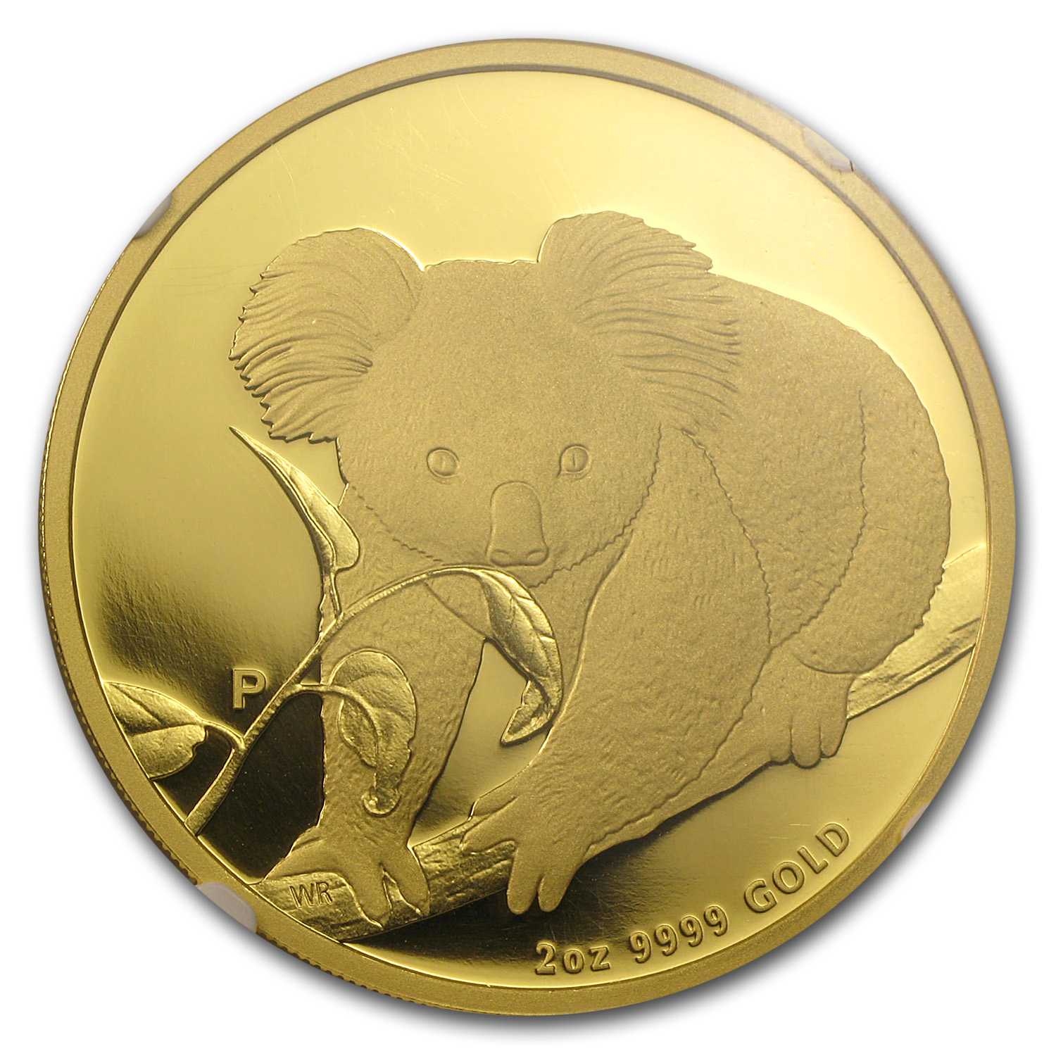 2010 2 oz Proof Australian Gold Koala PF-70 NGC
