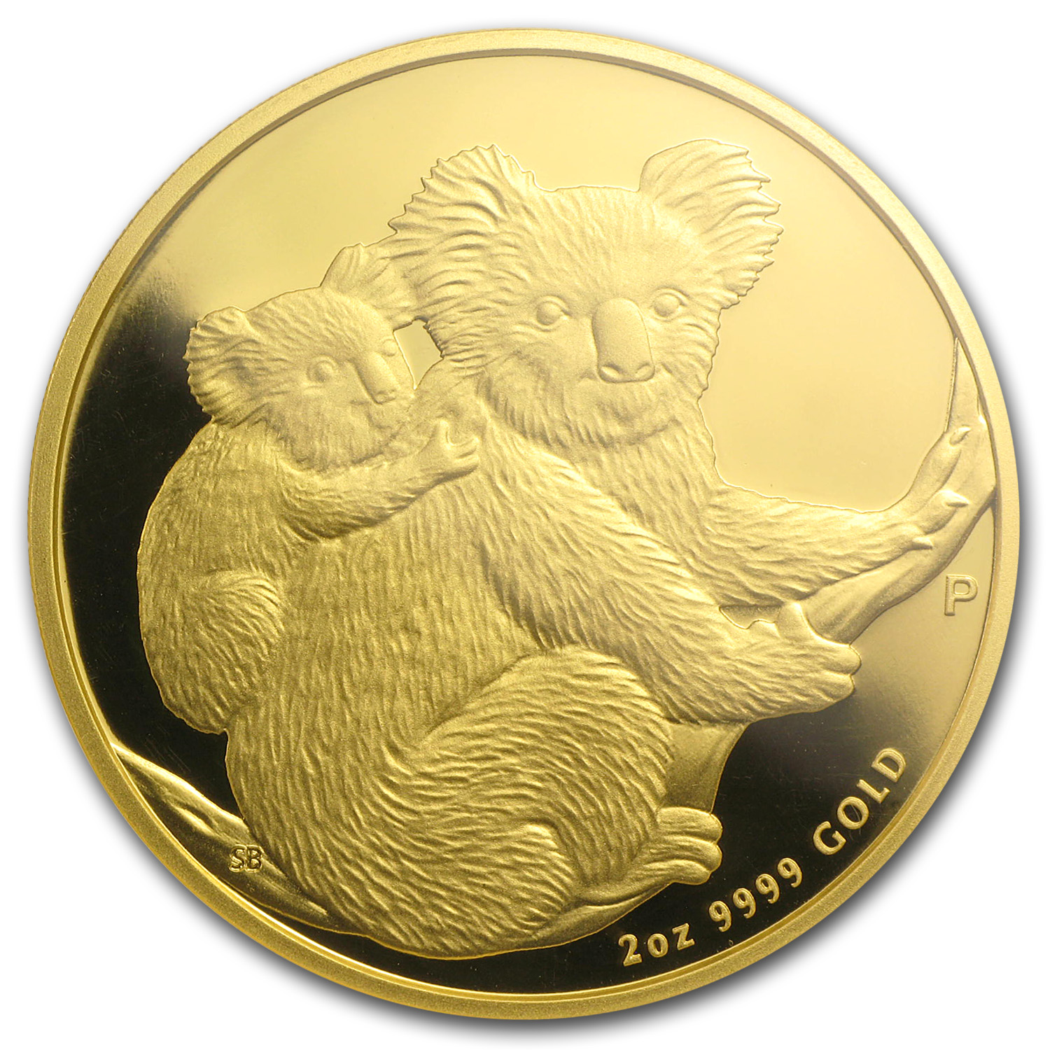 2008 2 oz Proof Australian Gold Koala PF-70 UCAM NGC