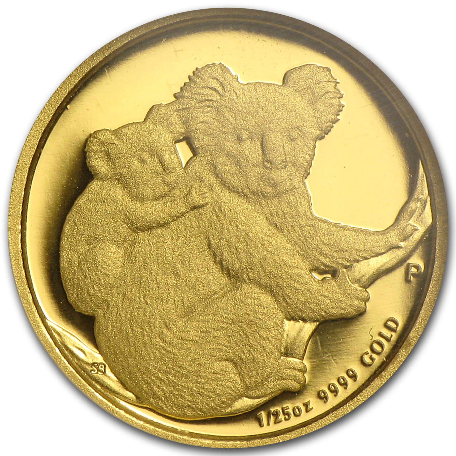 2008 1/25 oz Proof Gold Koala PF-70 UCAM NGC