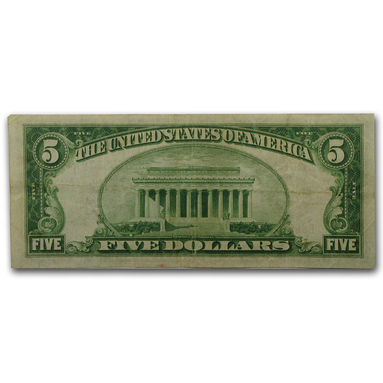 1928-A (B-New York) $5.00 FRN VF+