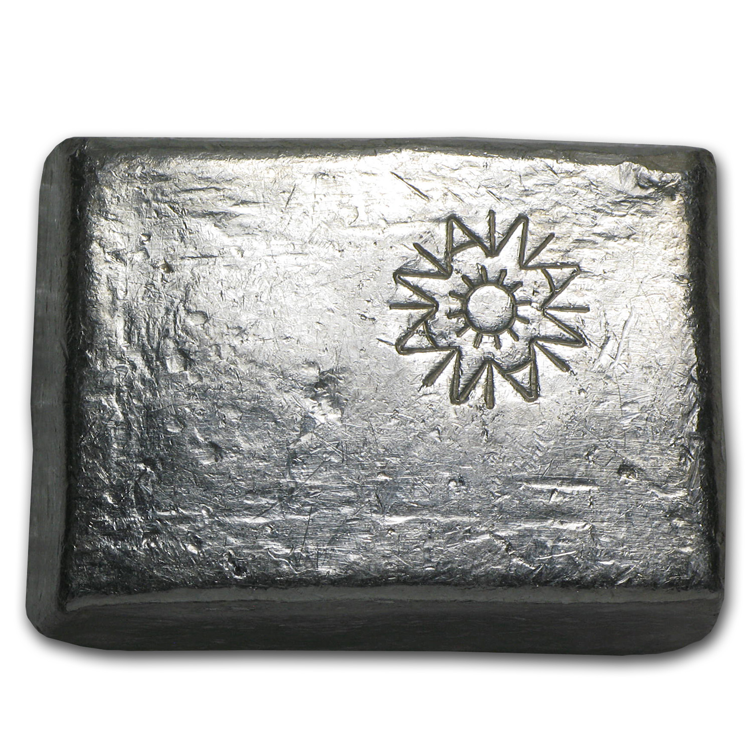 5.77 oz Silver Bars - A W Smelter