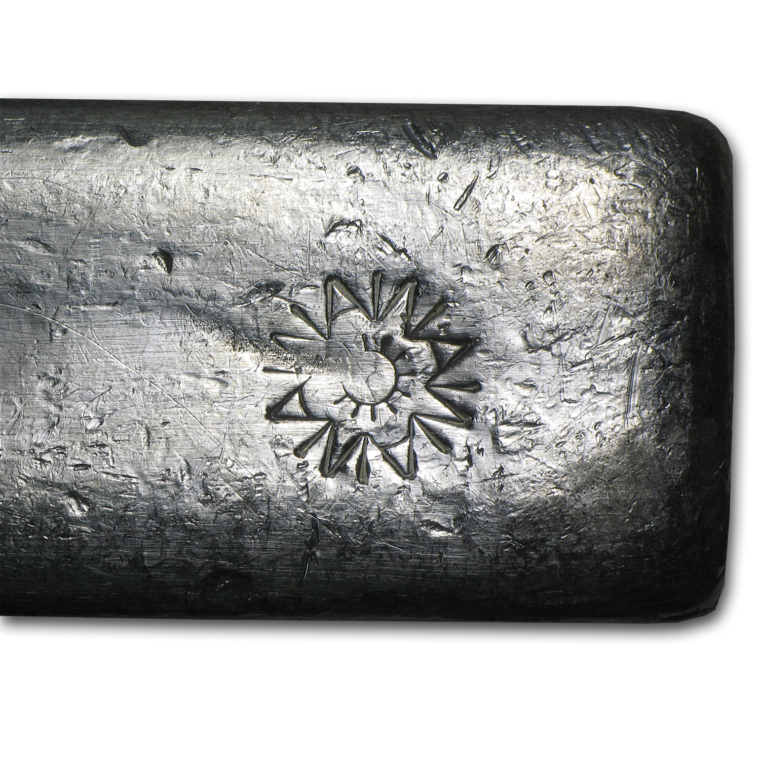 9.06 oz Silver Bar - A W Smelter