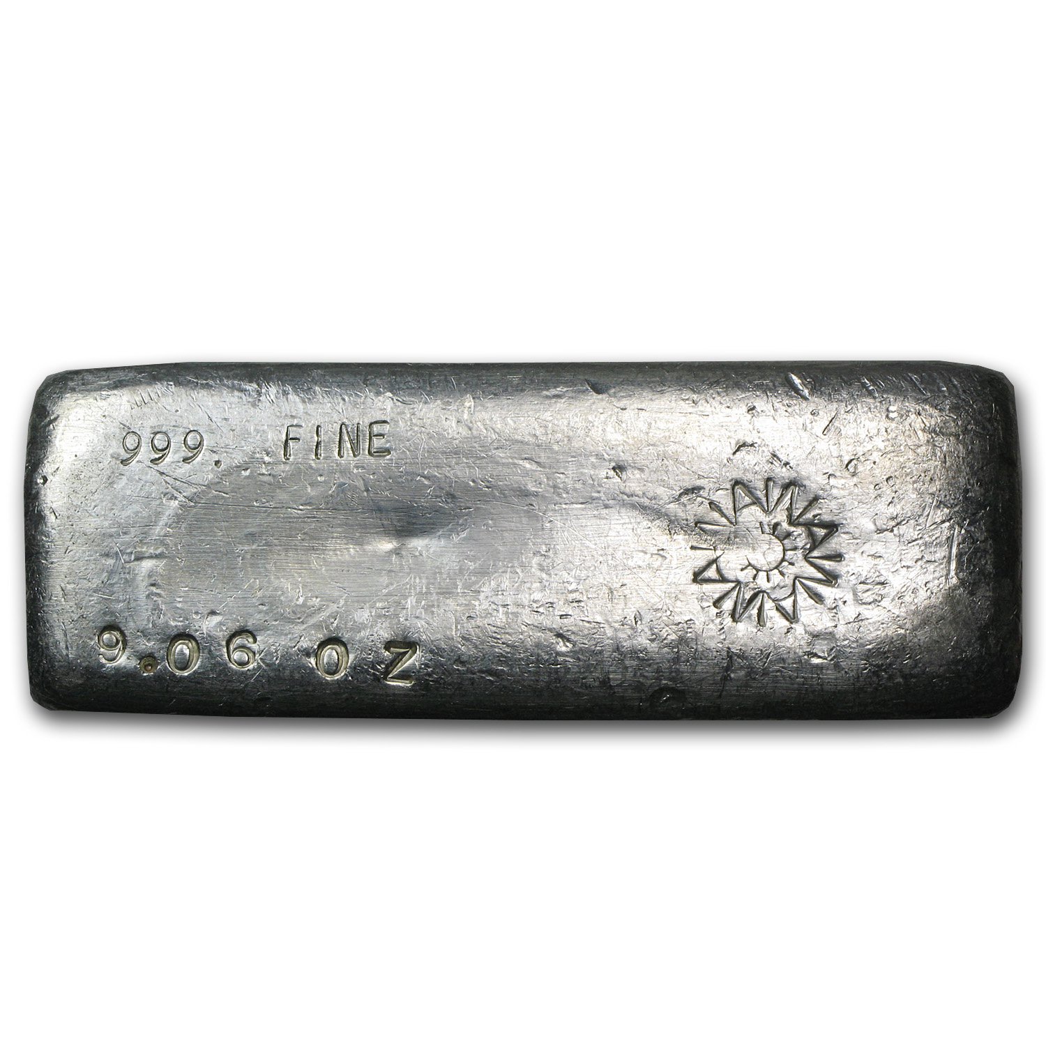 9.06 oz Silver Bars - A W Smelter