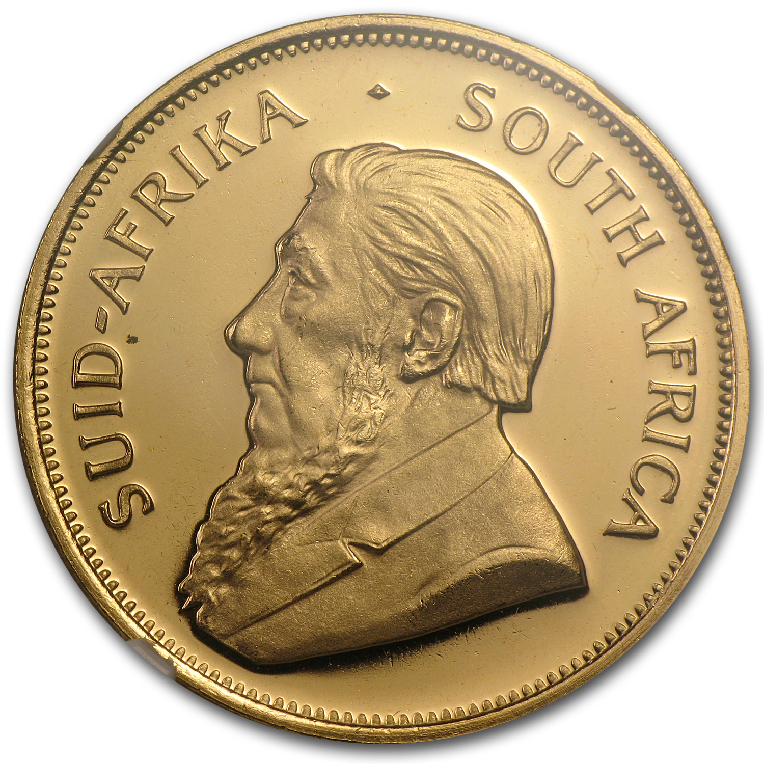 1981 1 oz Gold South African Krugerrand MS-67 NGC