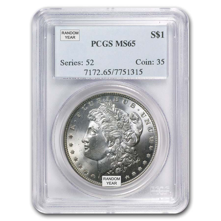 1878-1904 Morgan Dollars MS-65 PCGS (20 Different Dates/Mints)