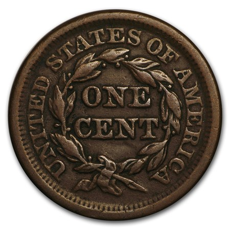 1850 Large Cent Xf Large Cents 1793 1857 Apmex