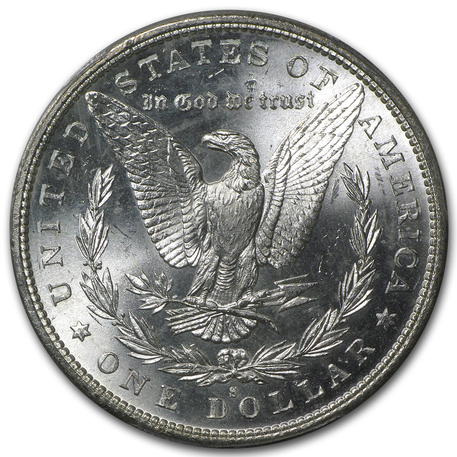 1880/79-S Morgan Dollar - MS-65 PCGS