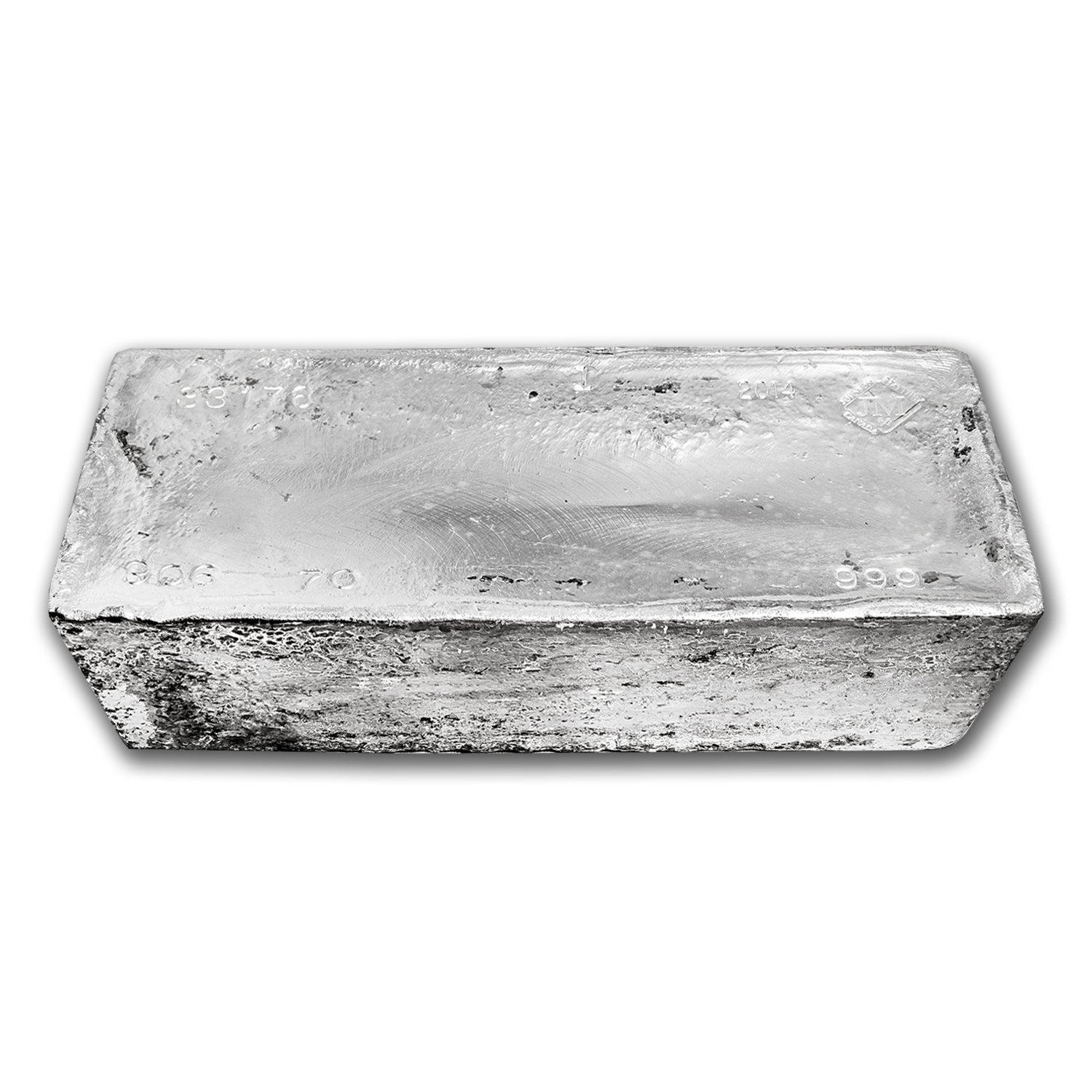 1044.30 oz Silver Bars - Johnson Matthey