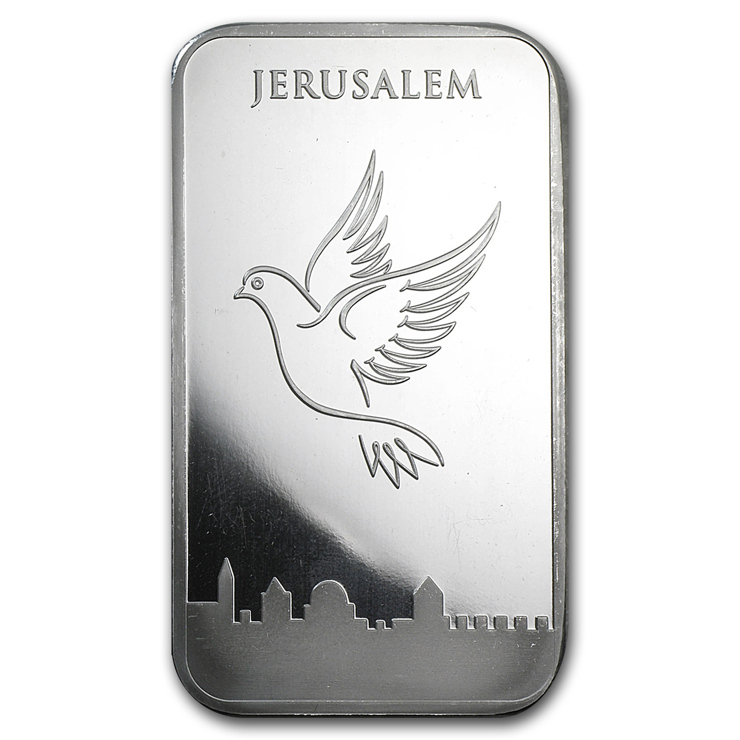 5 oz Silver Bars - Holy Land Mint (Dove of Peace)