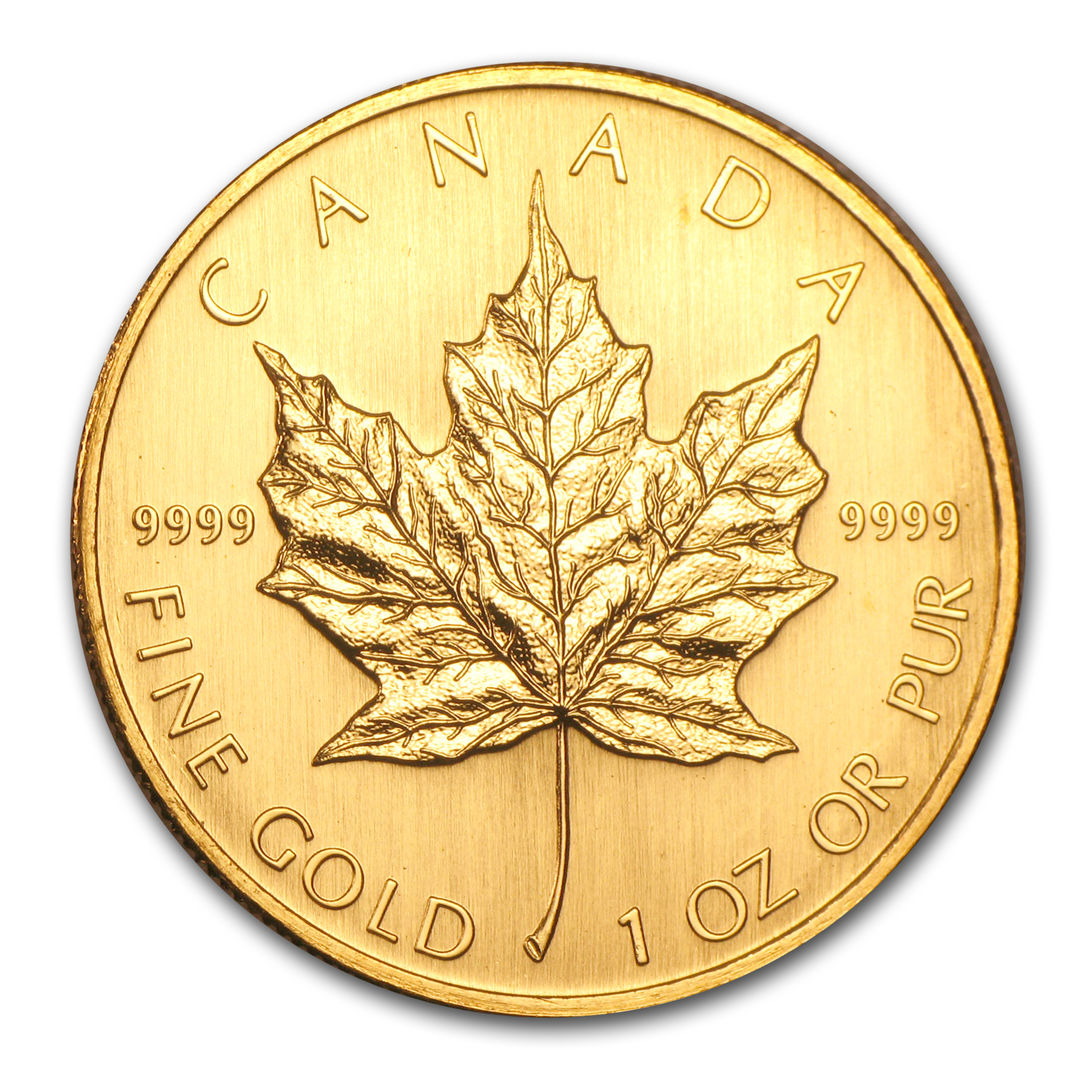 2003 1 oz Gold Canadian Maple Leaf - Brilliant Uncirculated