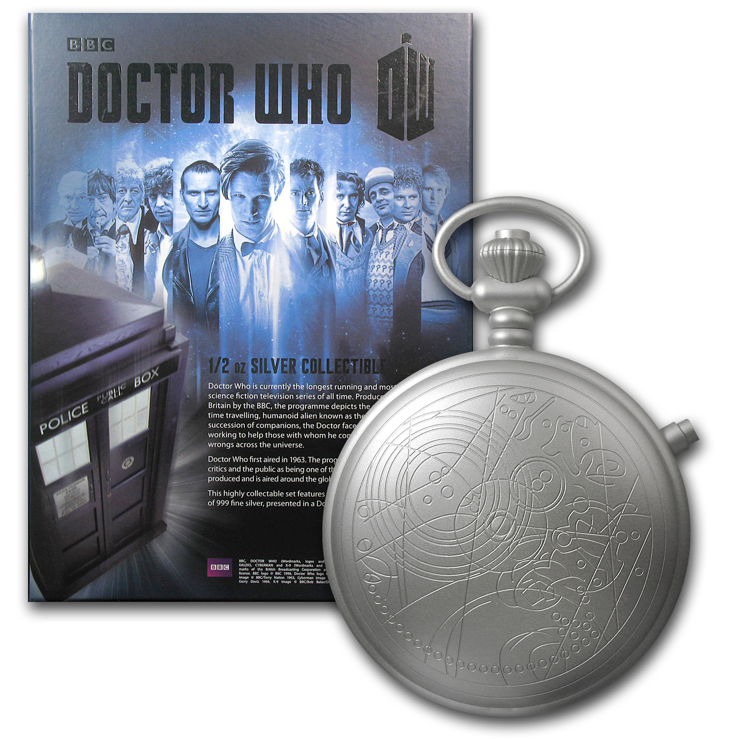 2013 11-Coin 1/2 oz Silver Niue $2 Doctor Who Set (5.5 oz ASW)