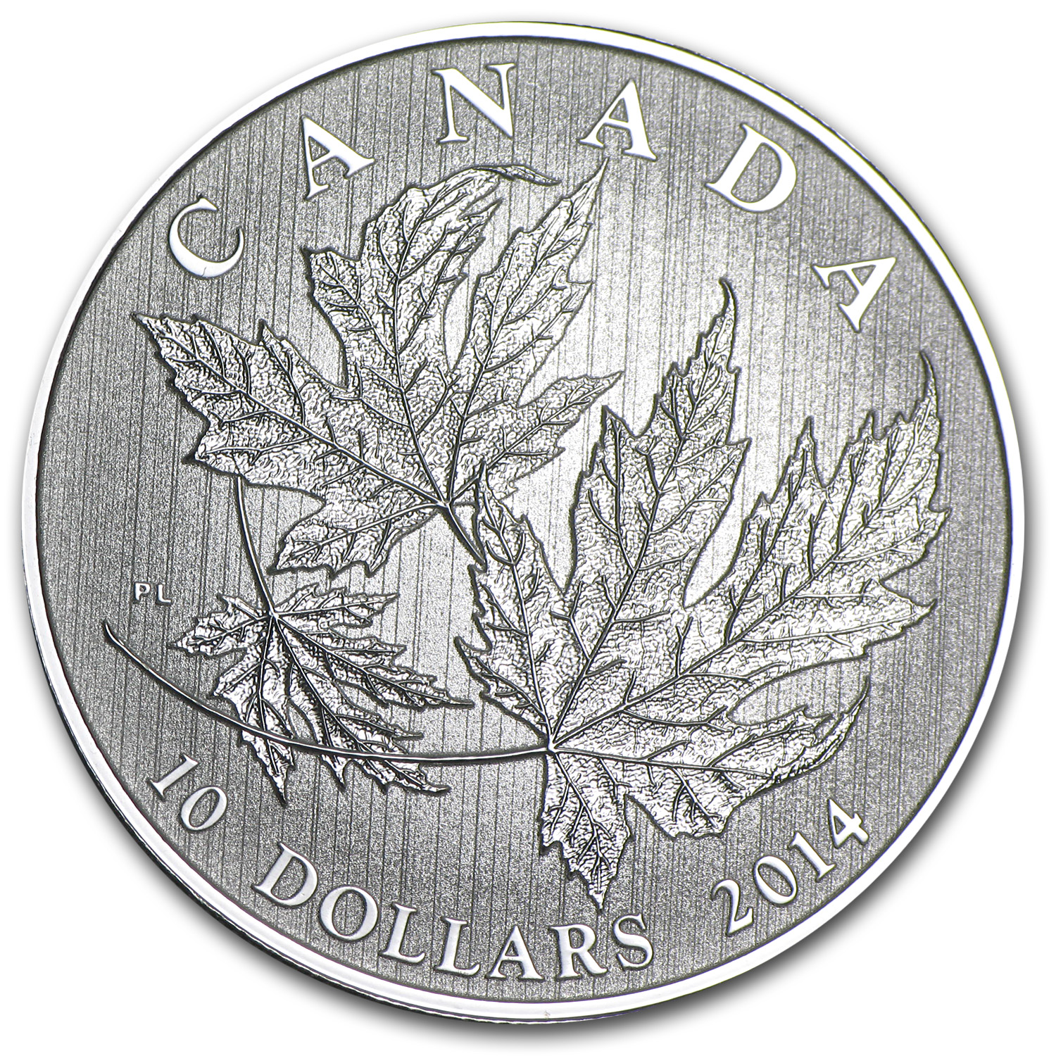 2014 1/2 oz Silver Canadian $10 Maple Leaf