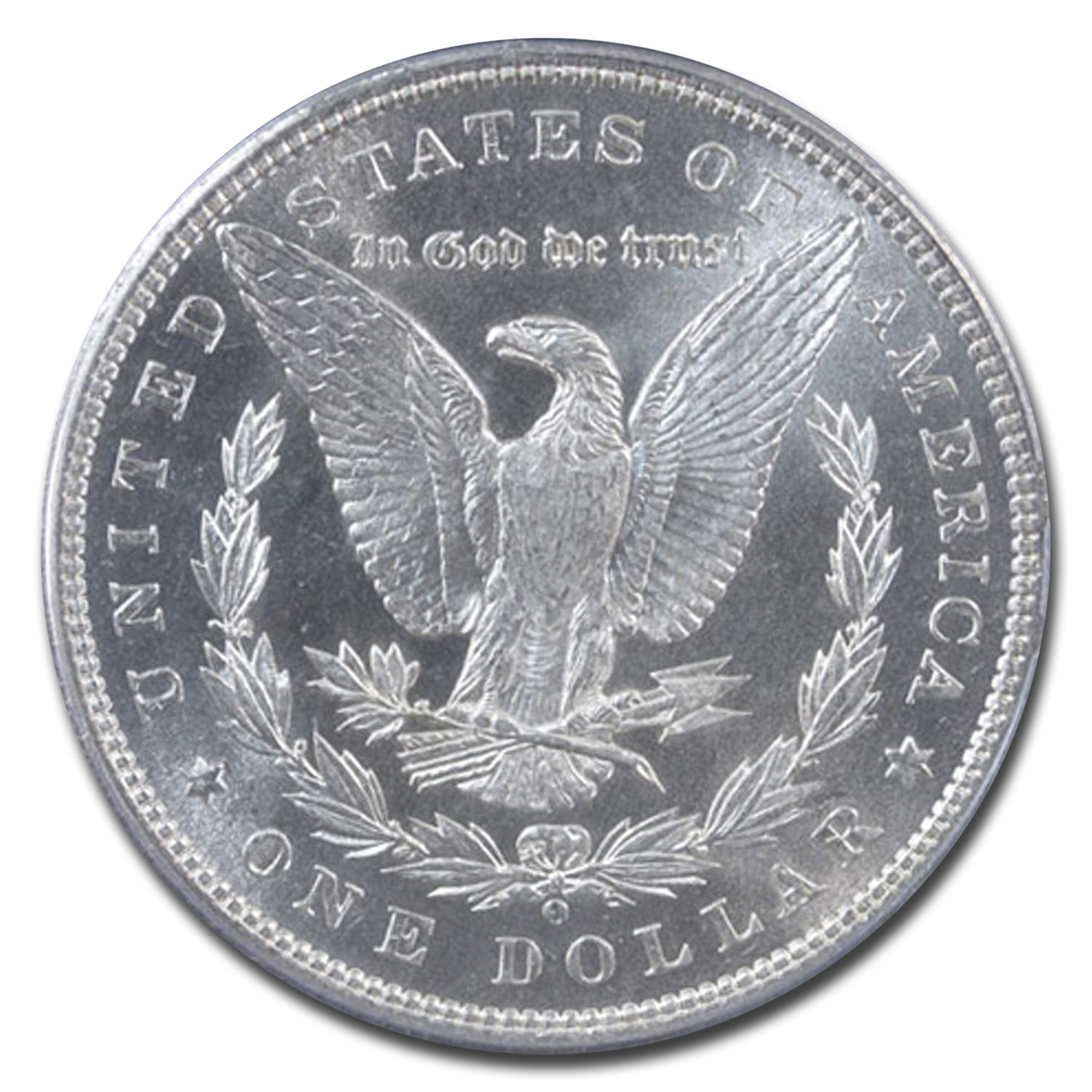 1888-O Morgan Dollar MS-64 PCGS - CAC - Sepia/Rainbow Toning