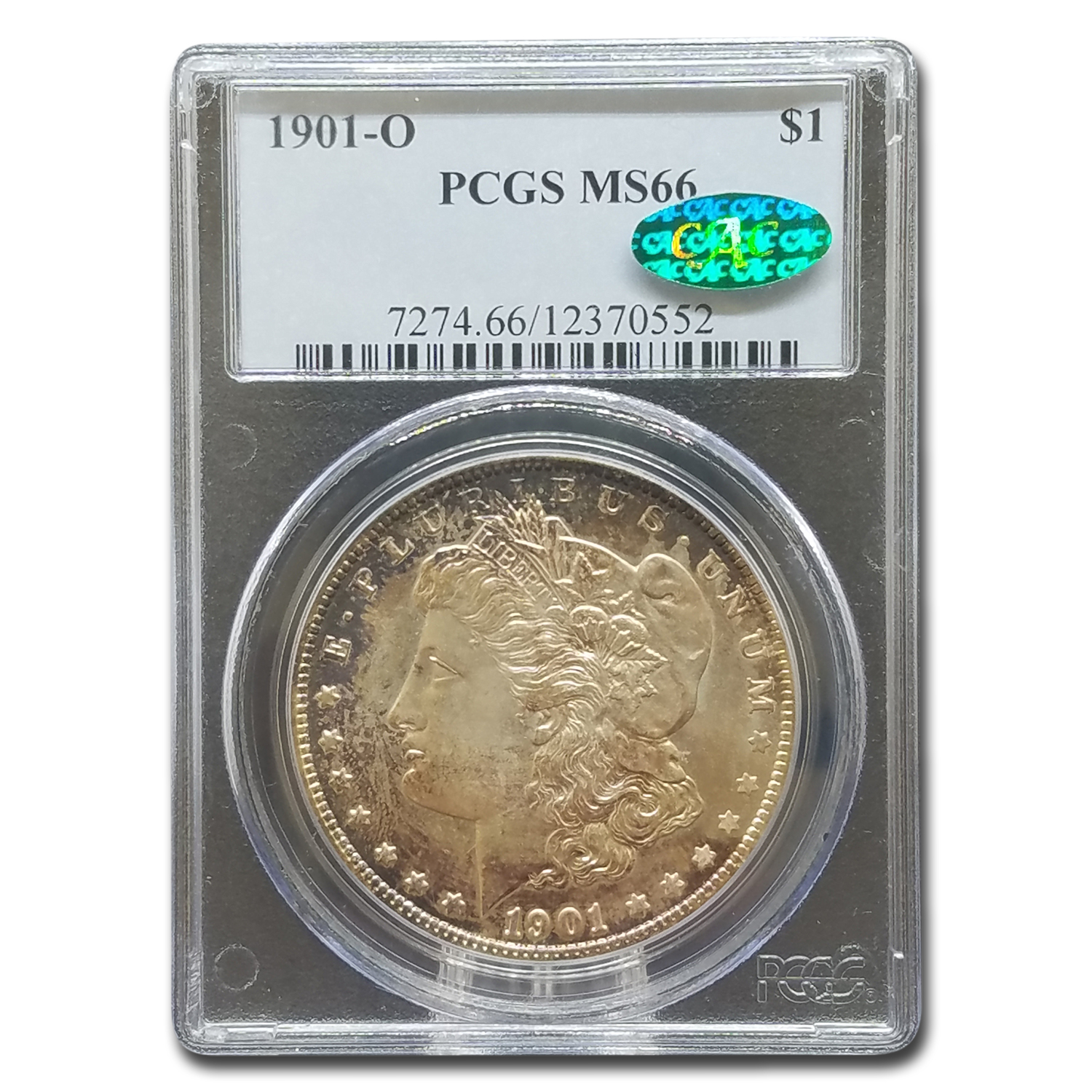 1901-O Morgan Dollar MS-66 PCGS (CAC)