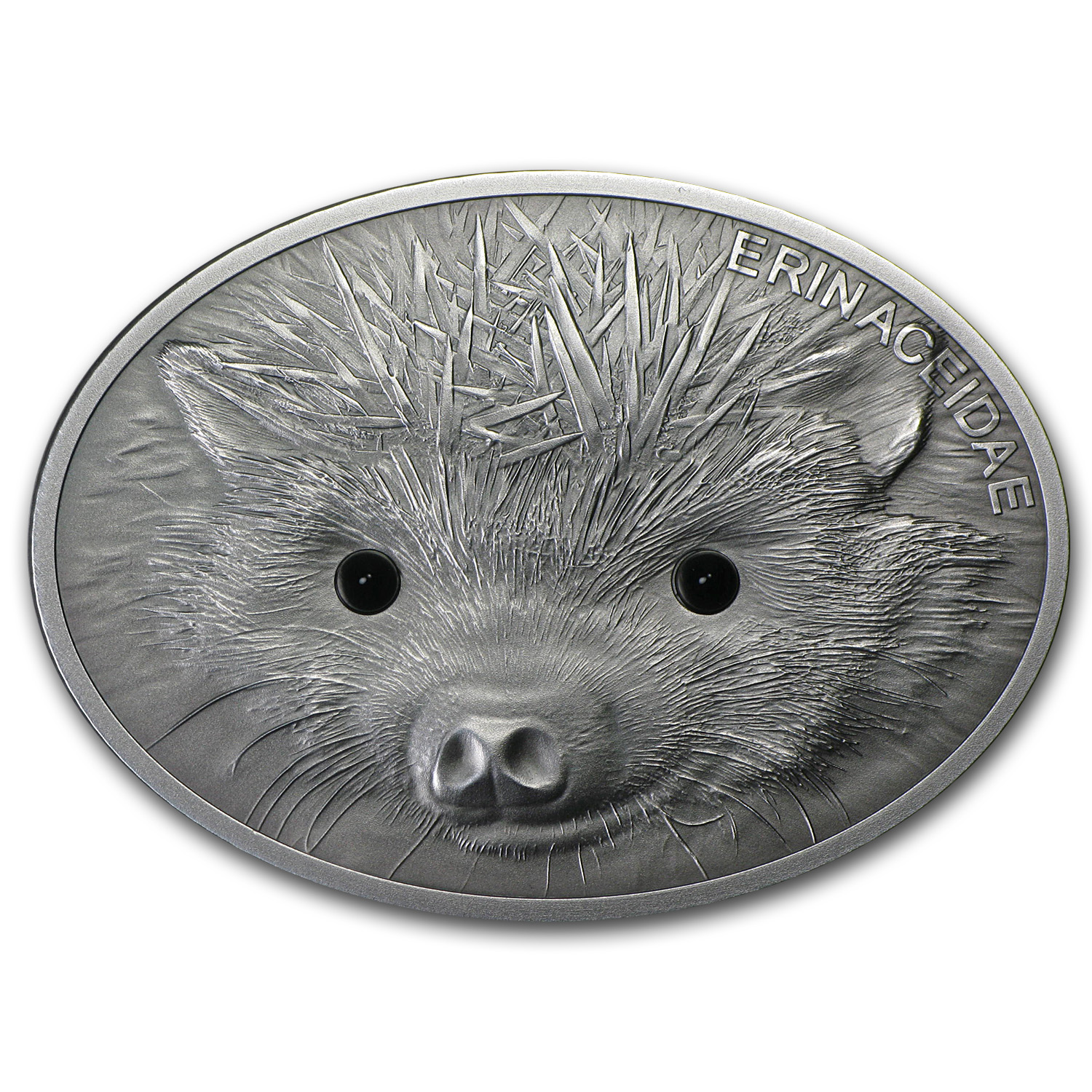 2013 Fiji 1 oz Silver $10 Fascinating Wildlife Hedgehog