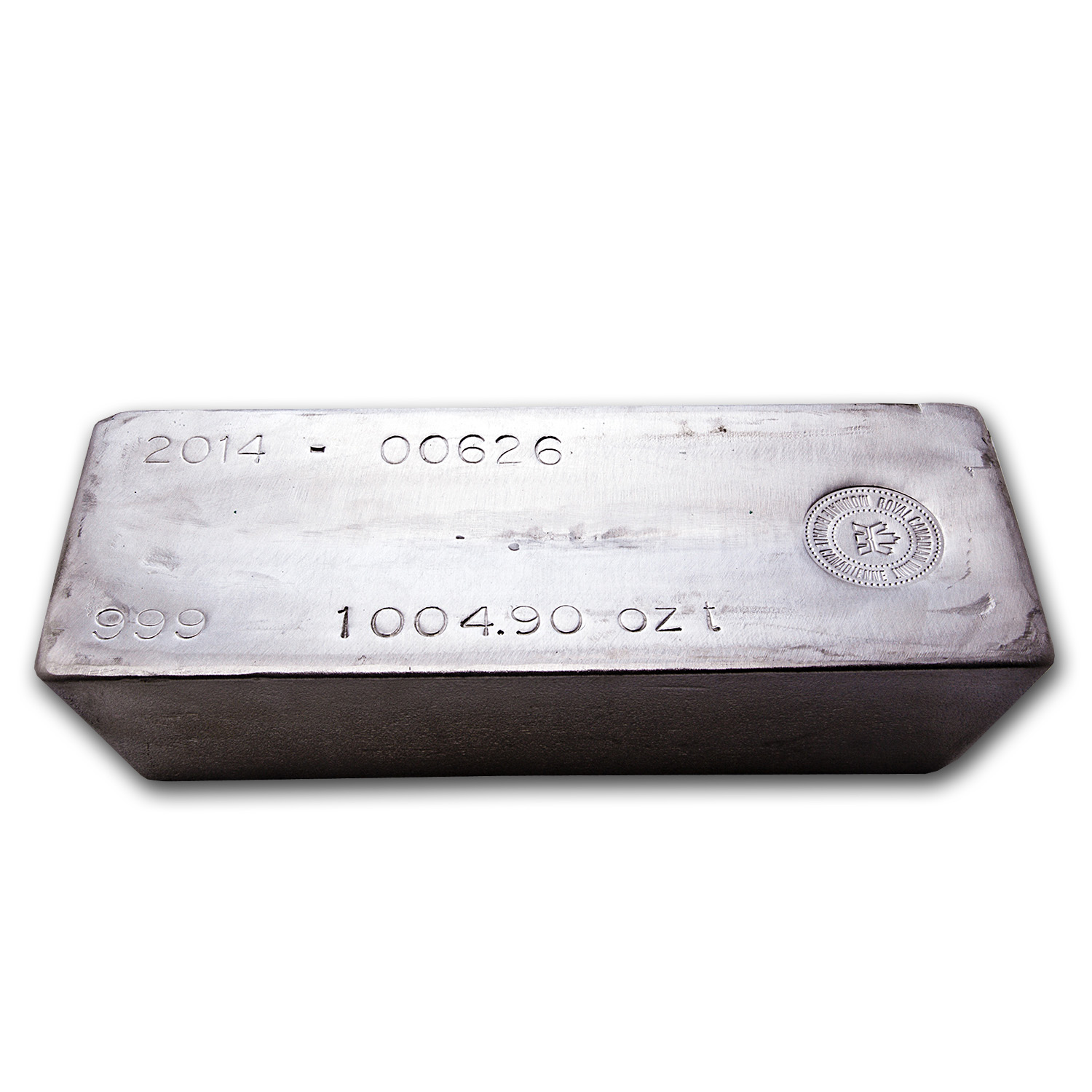 988.60 oz Silver Bar - Royal Canadian Mint (COMEX Deliverable)