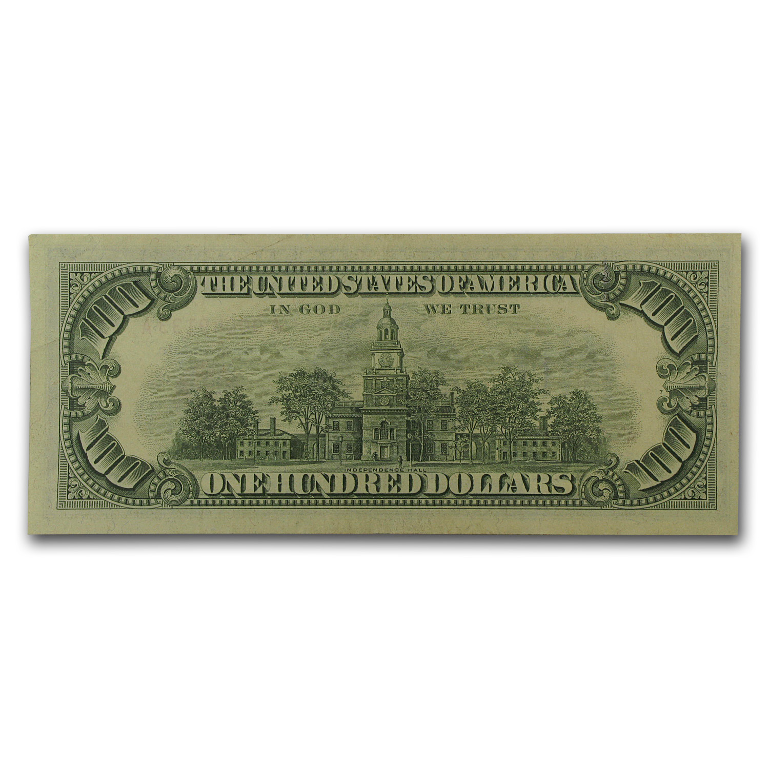 1966 $100 U.S. Note Red Seal AU
