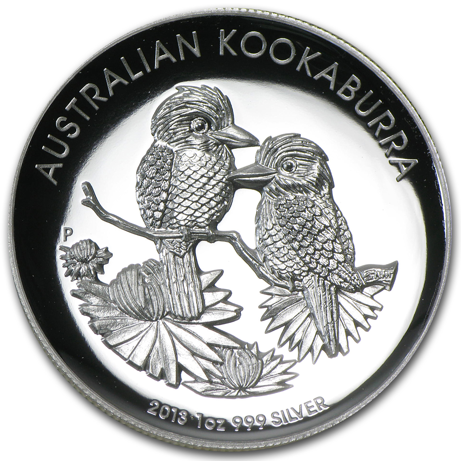 2013 1 oz Silver Australian Kookaburra High Relief Proof