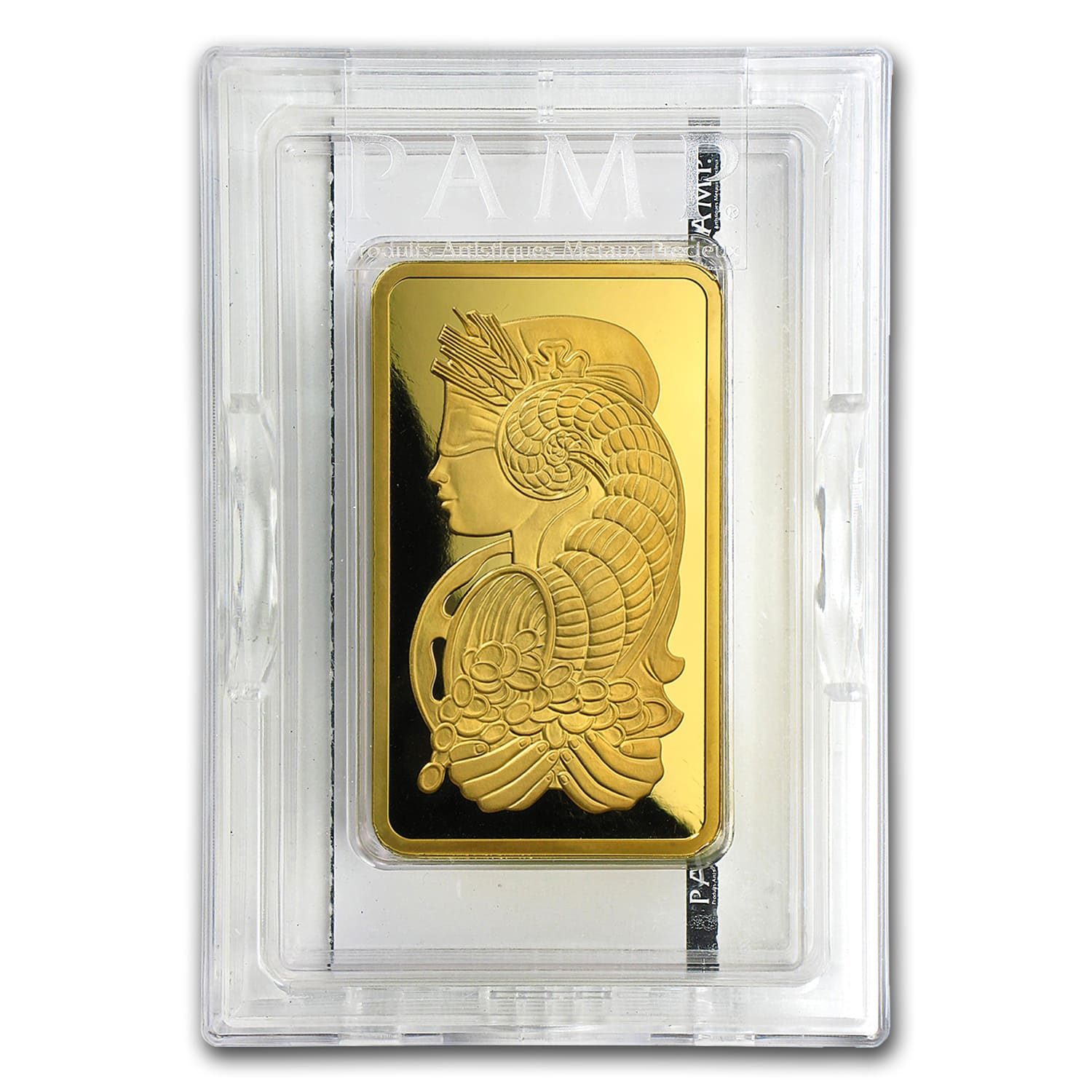 10 oz Gold Bar - PAMP Suisse Lady Fortuna Veriscan® (w/Assay)