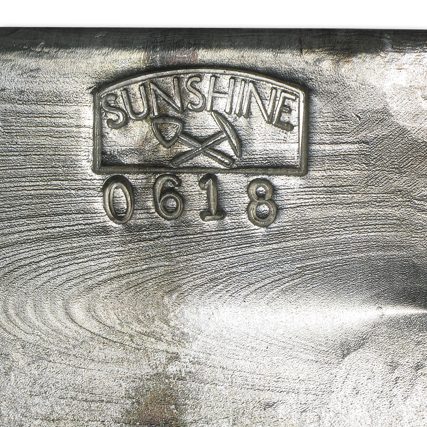 100 oz Silver Bars - Sunshine (1985/Vintage/Poured)