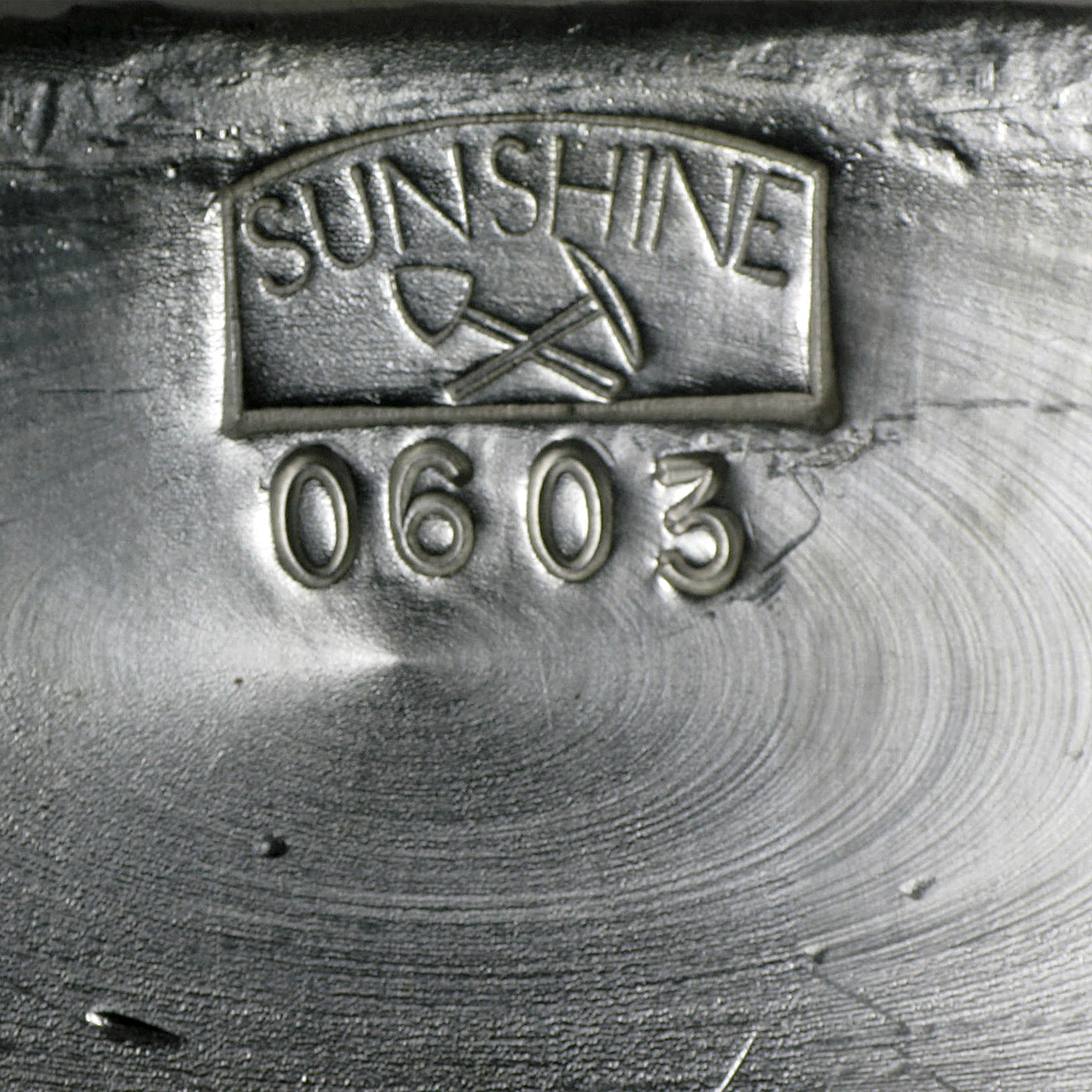 100 oz Silver Bars - Sunshine (1984/Vintage/Poured)