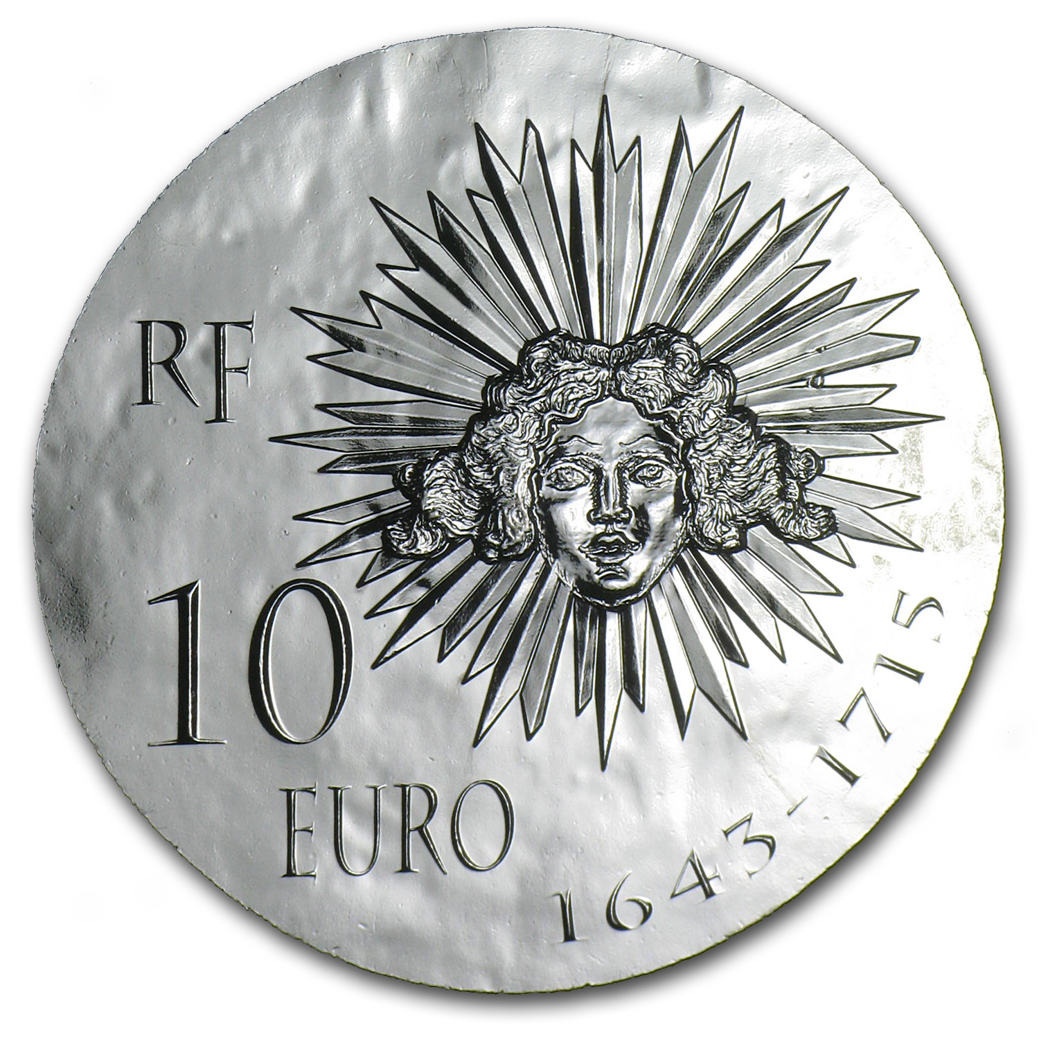2014 10 Euro Silver Proof Legendary Collection - Louis XIV