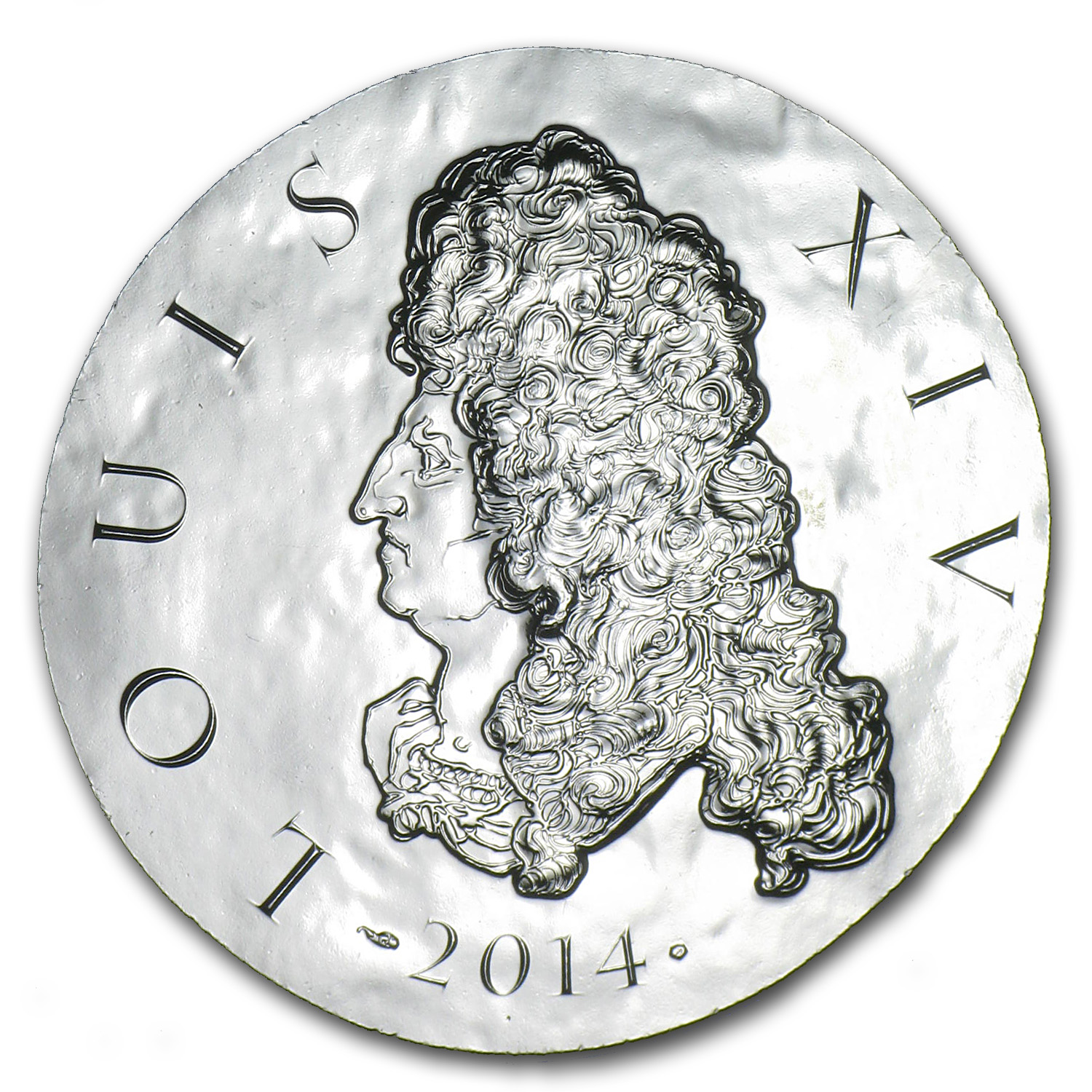 2014 France €10 Silver Legendary Collection Proof (Louis XIV)