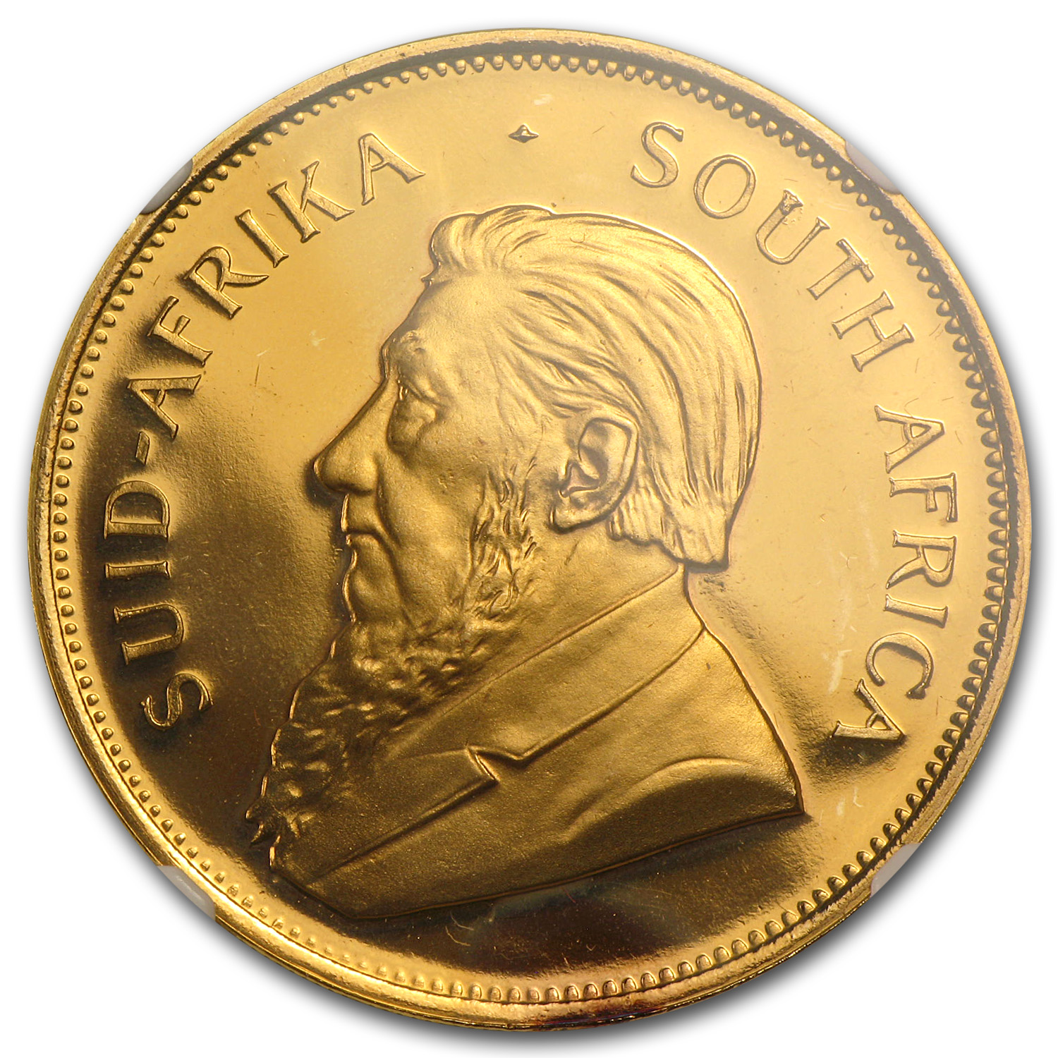 1989 1 oz Gold South African Krugerrand PF-67 NGC (GRC)