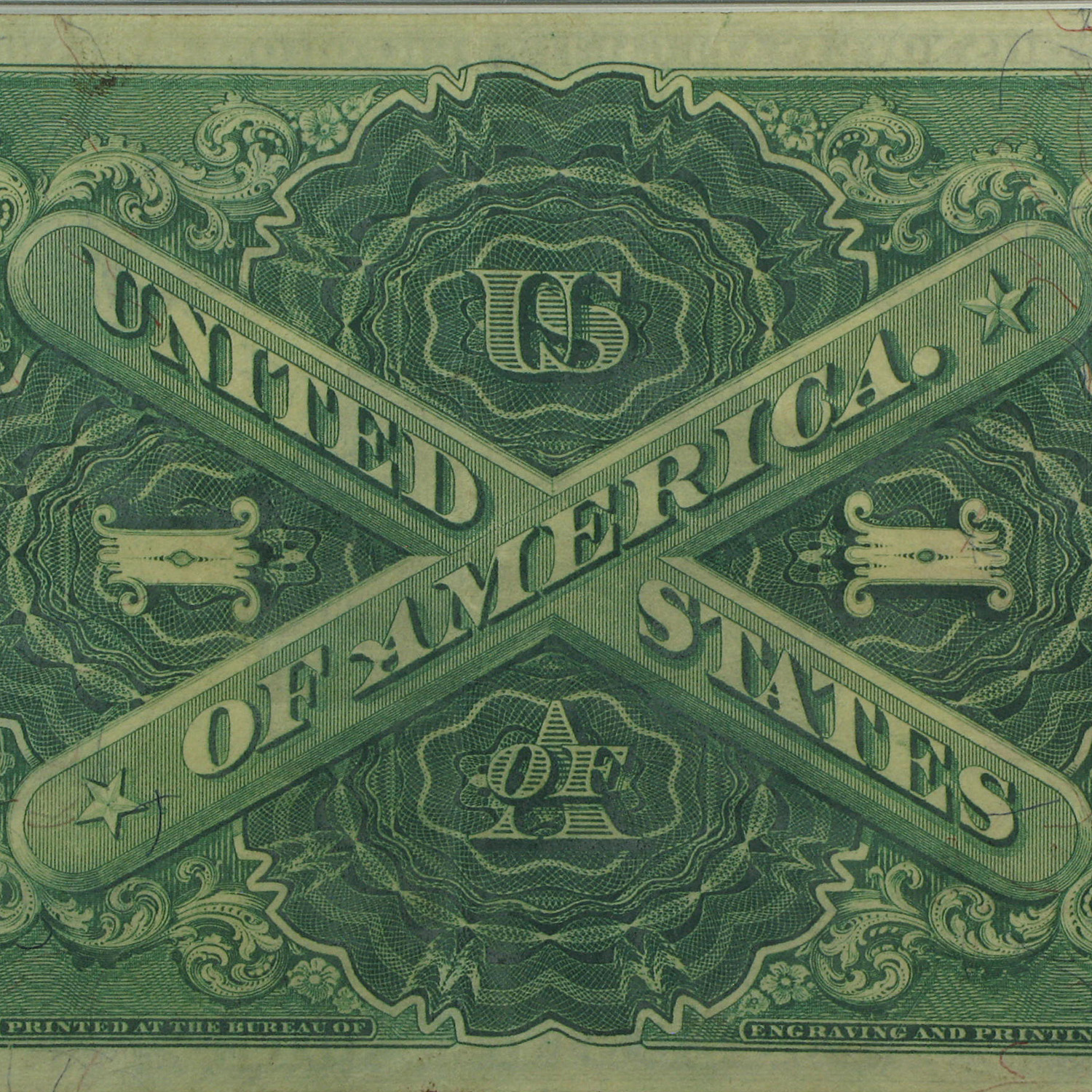 1917 Legal Tender $1.00 (PMG Very Fine)-30 EPQ)