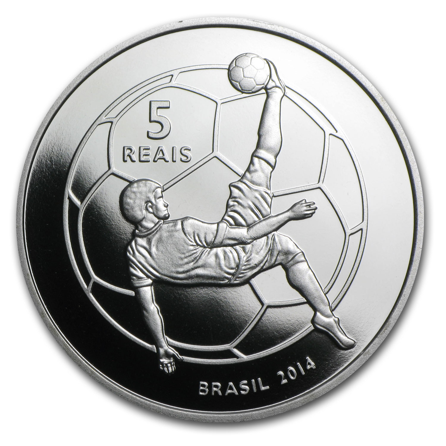 Brazil 2014 Silver Proof FIFA World Cup Brazil™ - Mascot