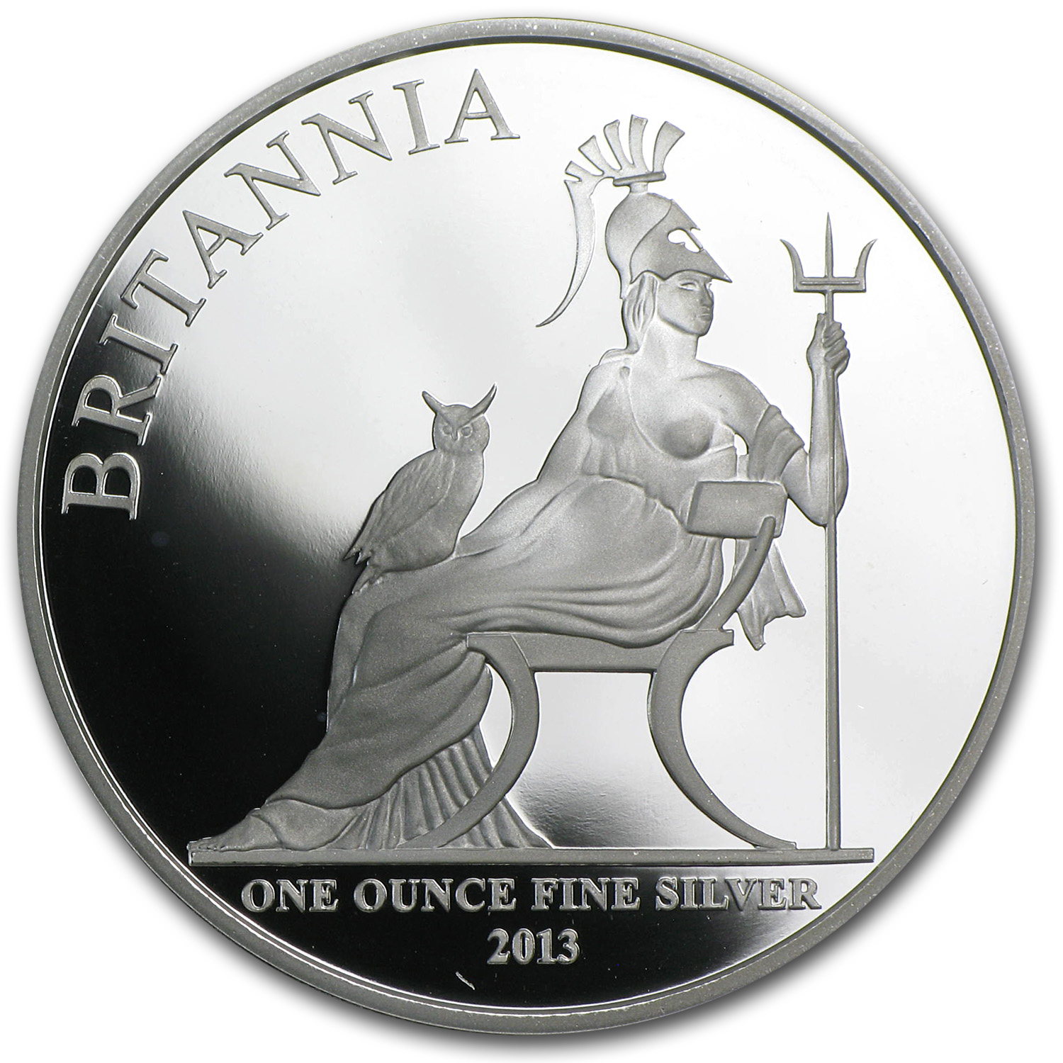 2013 1 oz Silver Proof Britannia
