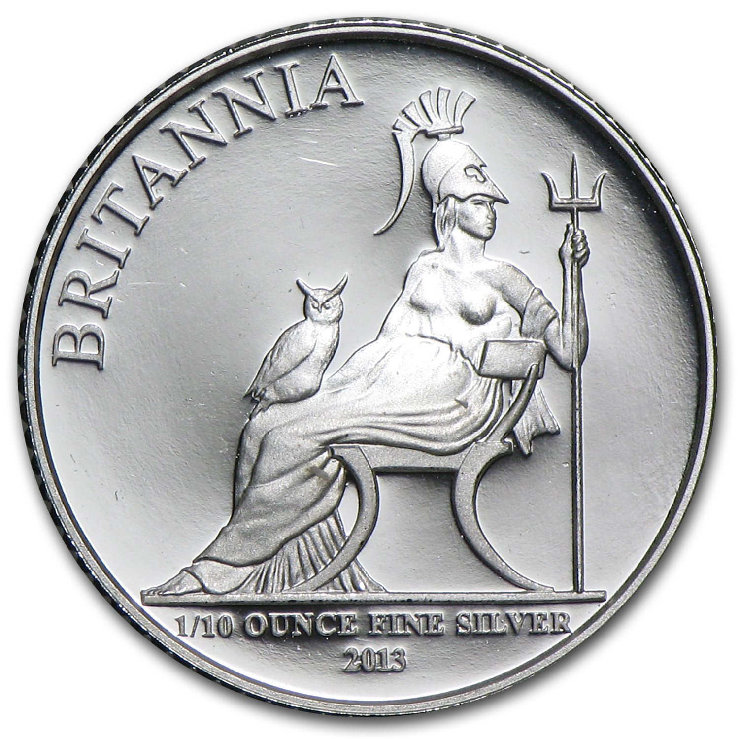 2013 Great Britain 1/10 oz Silver Britannia Proof