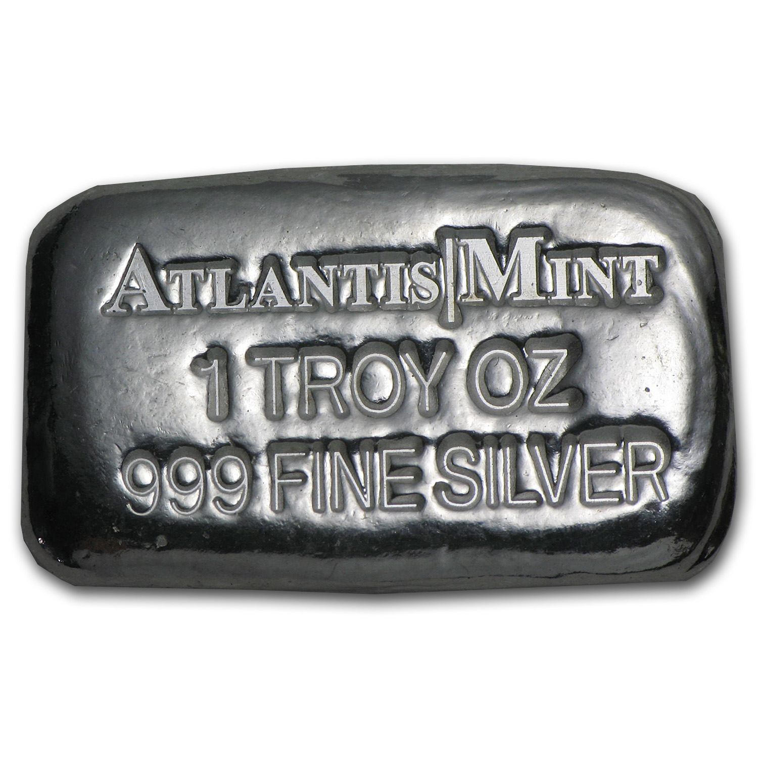 1 oz Silver Bar - Atlantis Mint