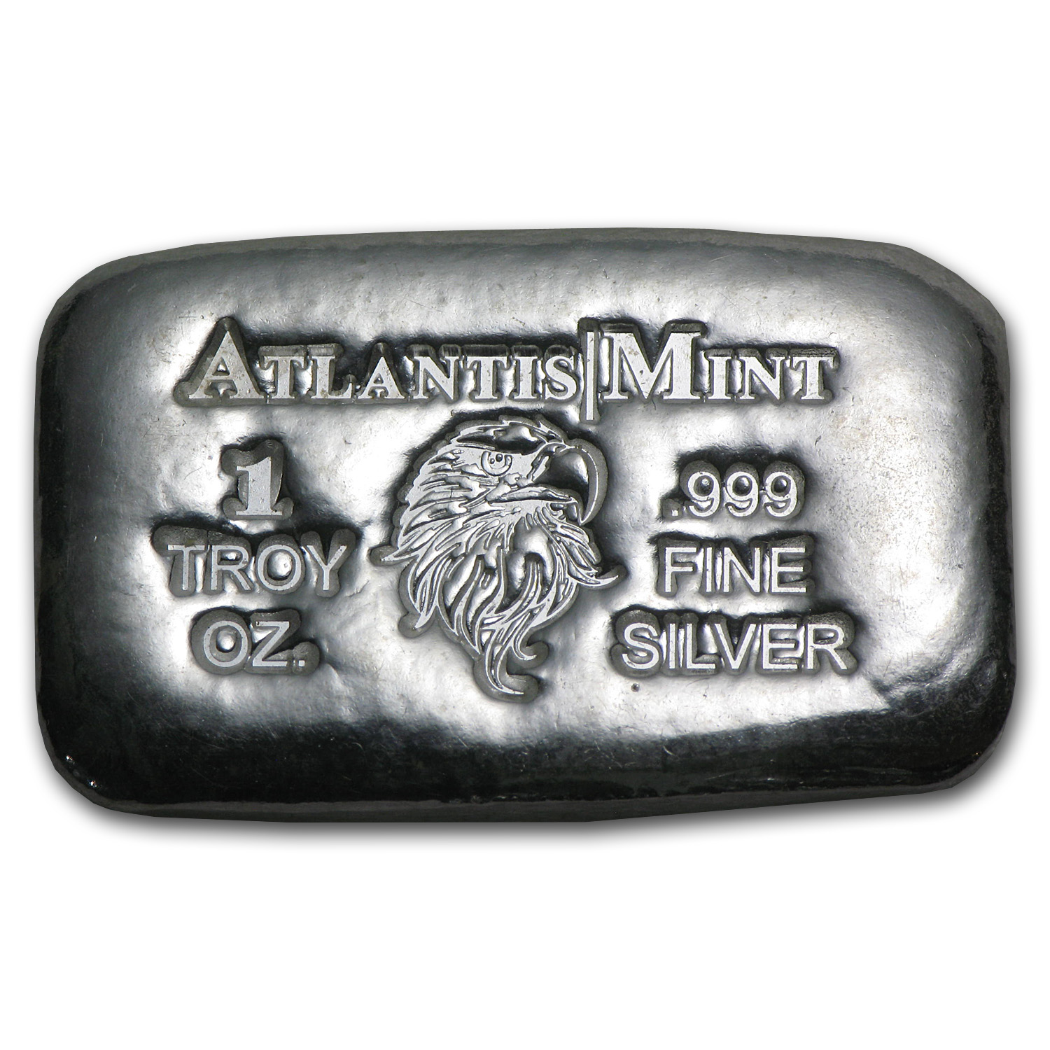 1 oz Silver Bar - Atlantis Mint (Eagle)